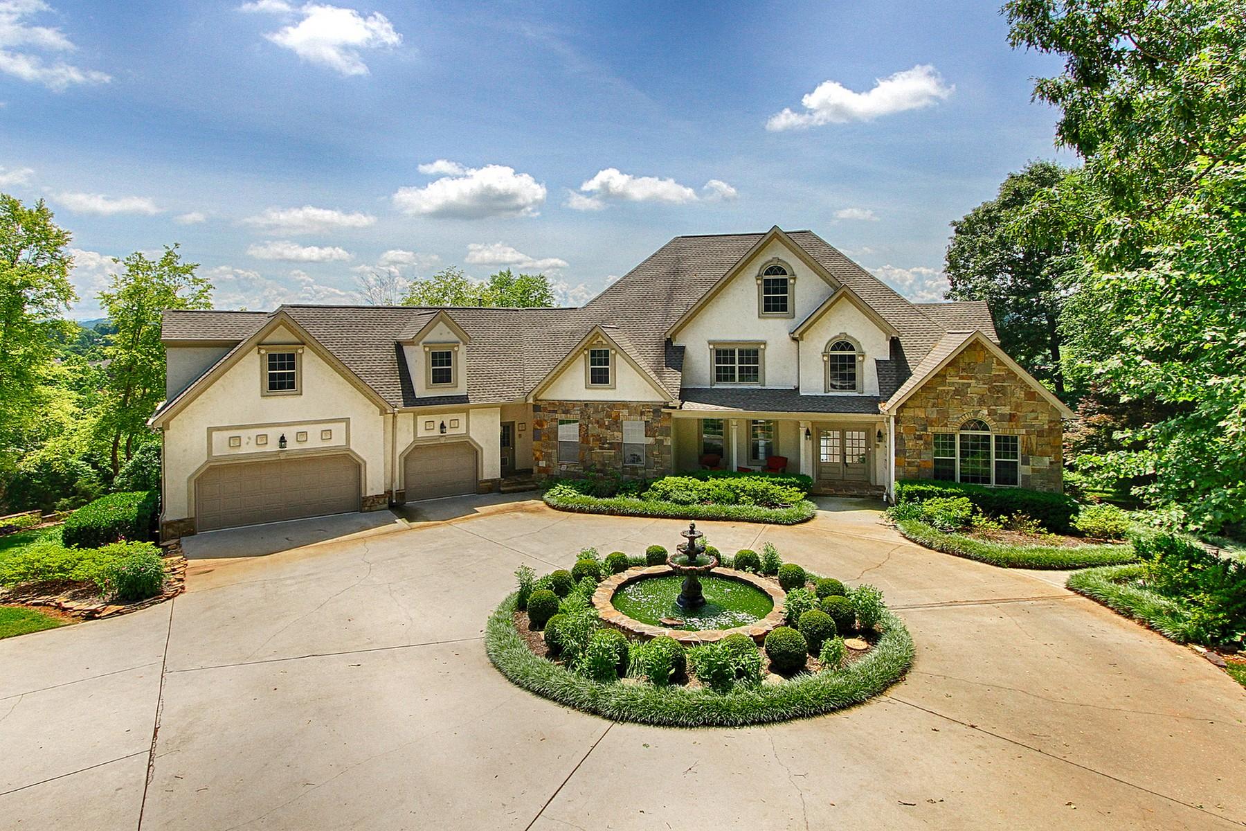 Moradia para Venda às Lakefront Estate With Mountain Views 7044 Lake Bluff Court Knoxville, Tennessee, 37920 Estados Unidos