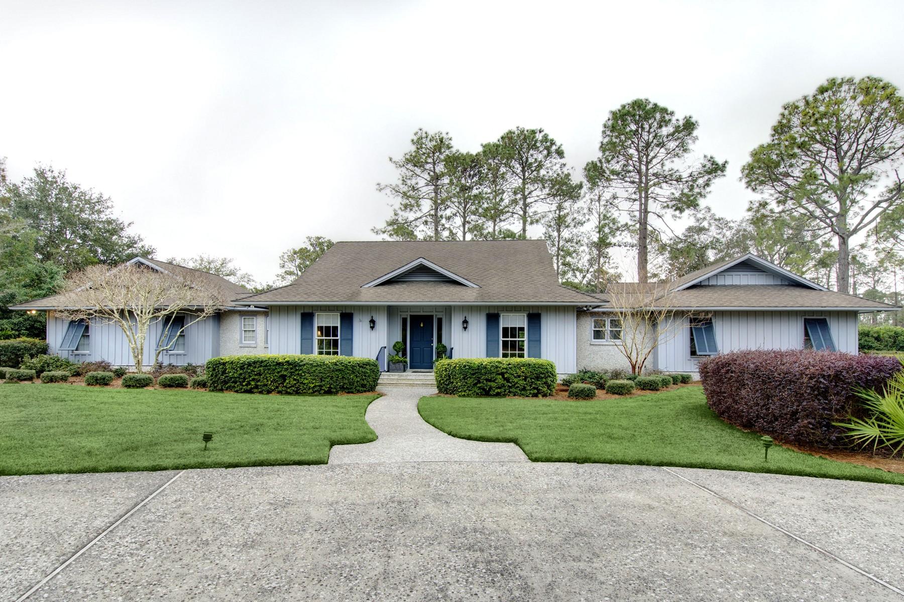 独户住宅 为 销售 在 158 St. Andrews 圣西蒙岛, 乔治亚州, 31522 美国