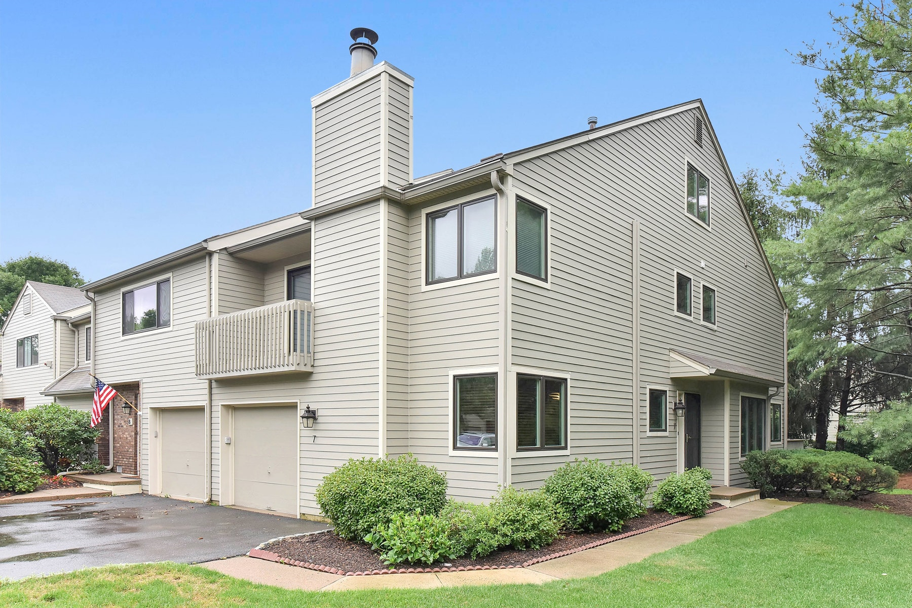 Townhouse for Sale at Spruce Run In The Heart Of Ramsey, End Unit, Now Available. 7 Spruce Run Ramsey, New Jersey 07446 United States