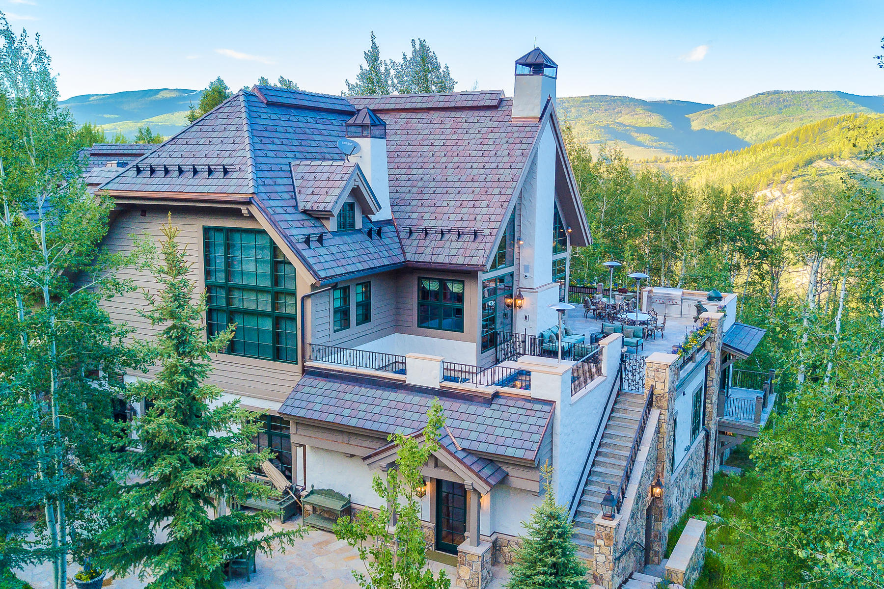 Single Family Homes for Sale at Extensive new construction with state-of-the-art technology 22 Strawberry Park Road, Beaver Creek, Colorado 81620 United States