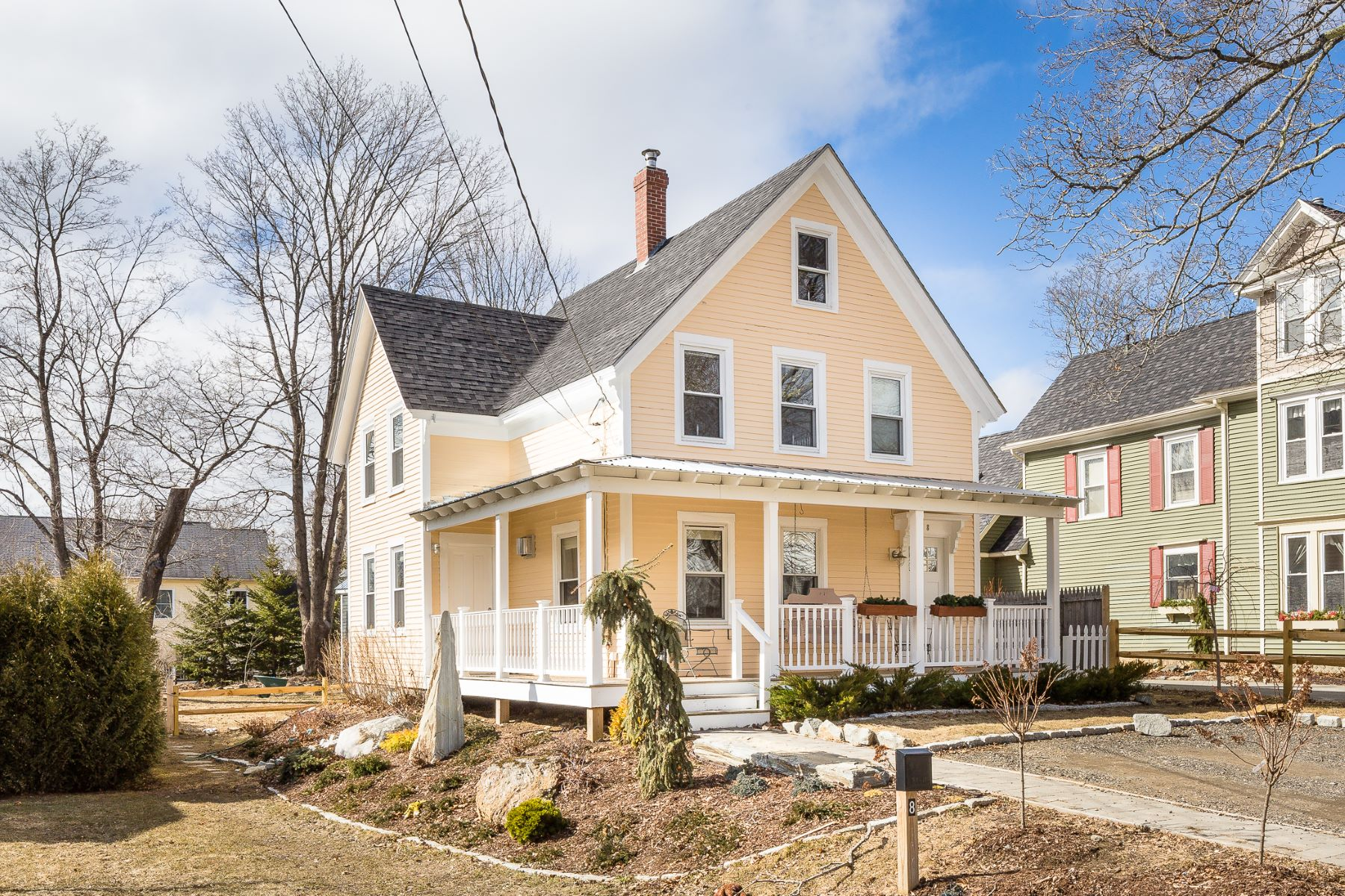 Single Family Home for Sale at 8 Central Street 8 Central Street Camden, Maine 04843 United States