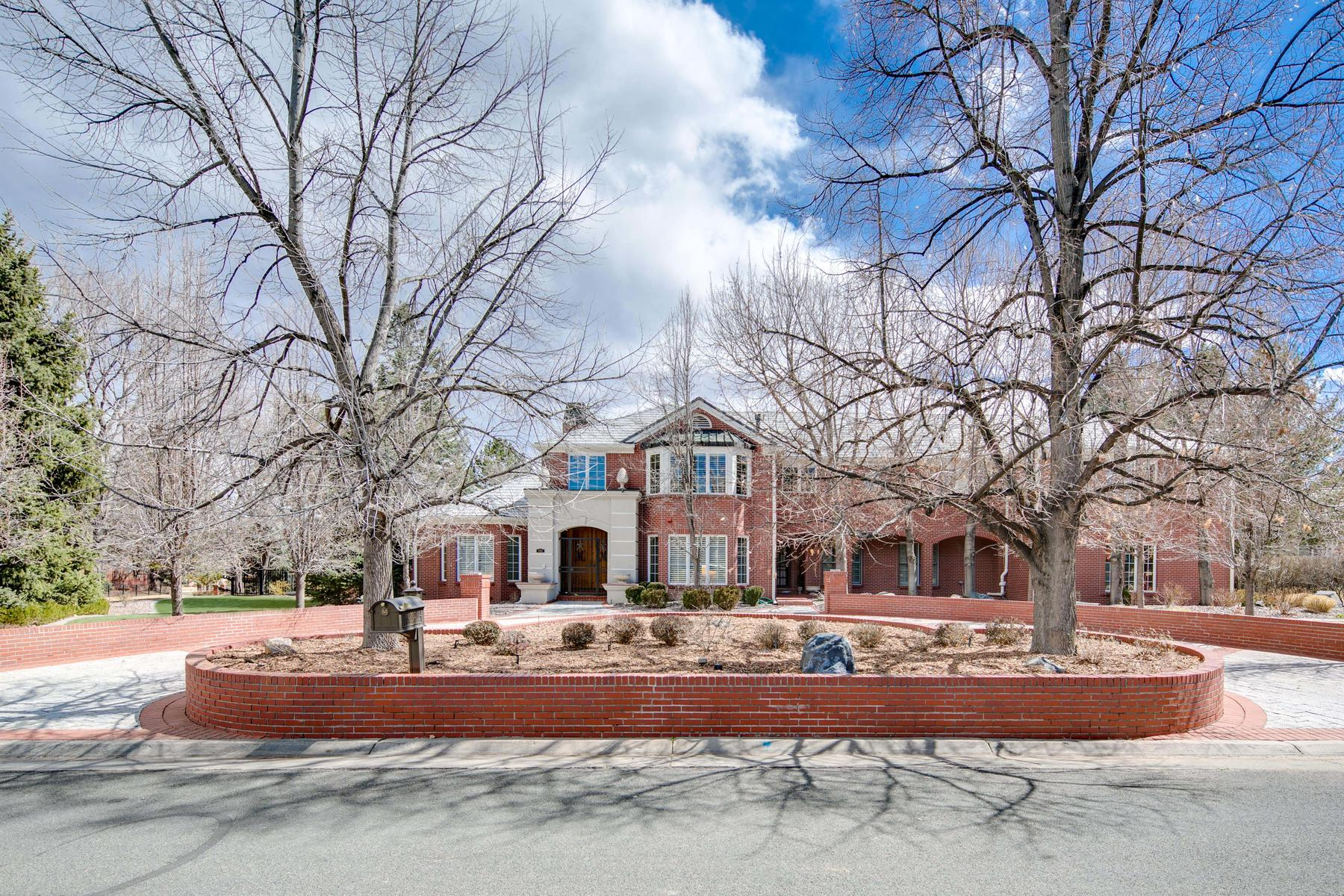 Single Family Home for Active at 4702 S. Elizabeth Court 4702 S. Elizabeth Ct. Cherry Hills Village, Colorado 80113 United States