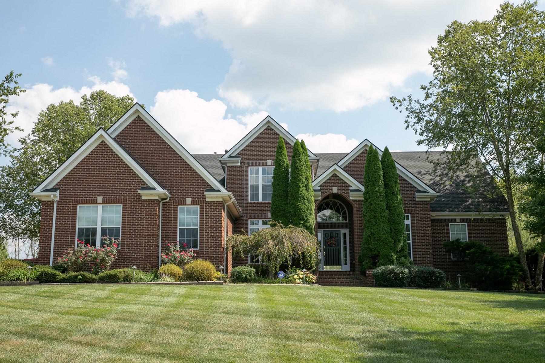 Single Family Homes pour l Vente à 210 Cambridge Lane Nicholasville, Kentucky 40356 États-Unis