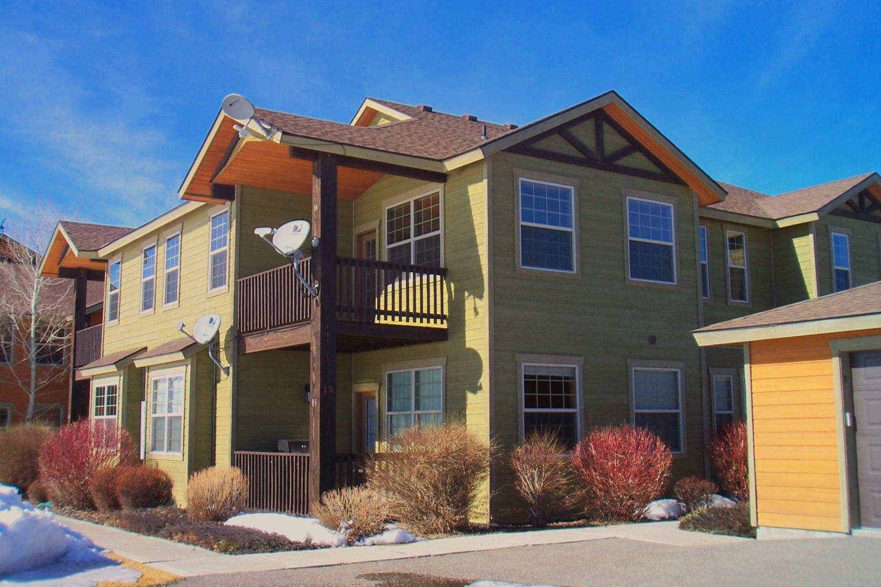 コンドミニアム のために 売買 アット Three bedroom condo - Teton views 633 BUFFALO JUNCTION LOOP UNIT 14 & GARAGE G Driggs, アイダホ, 83422 Jackson Hole, アメリカ合衆国