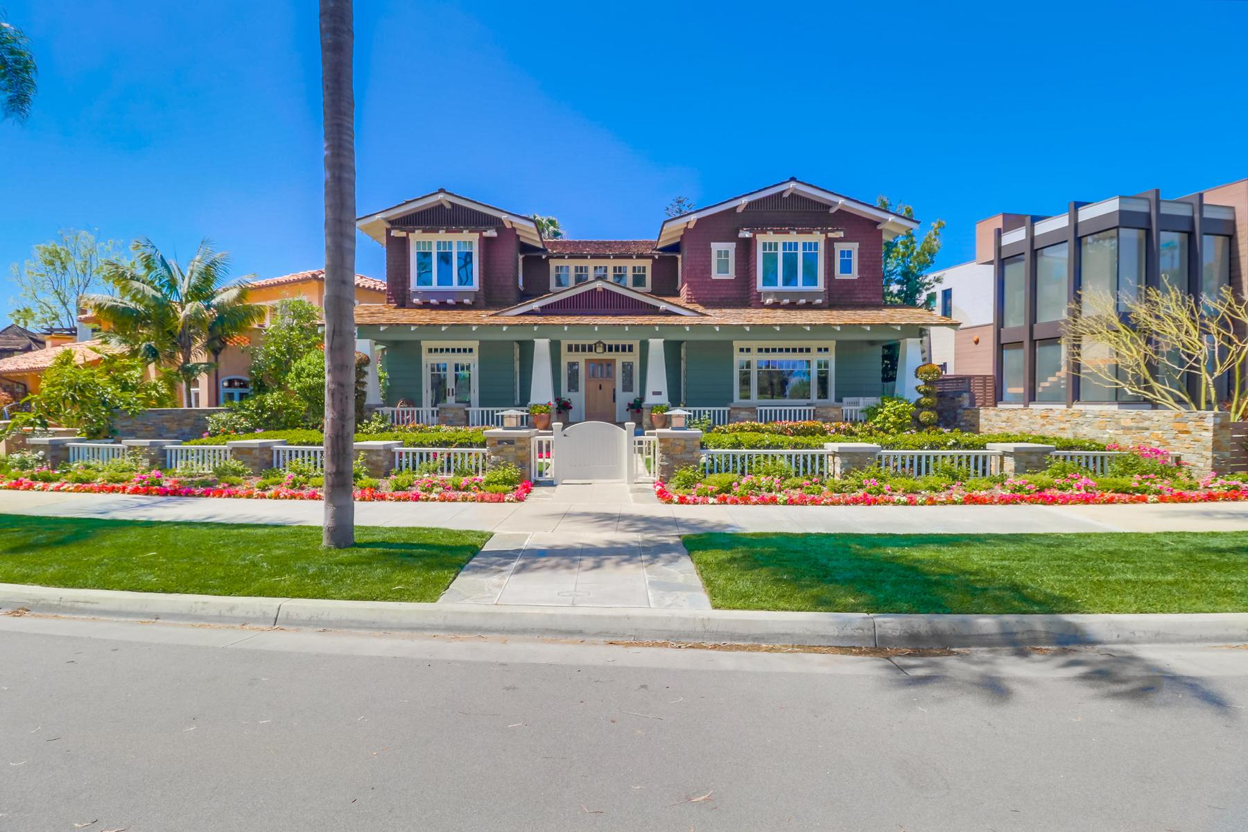 Single Family Homes for Active at 922 Glorietta Blvd Coronado, California 92118 United States