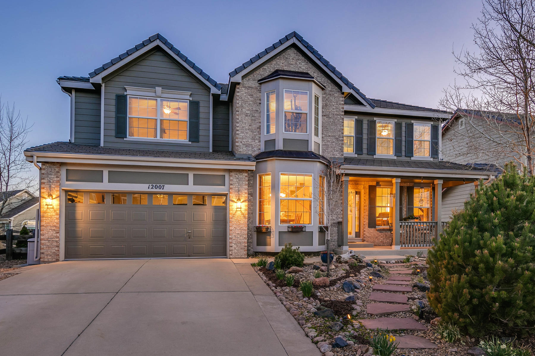Single Family Homes for Sale at Enchanting Garden Sanctuary 12007 Singing Winds Street Parker, Colorado 80138 United States