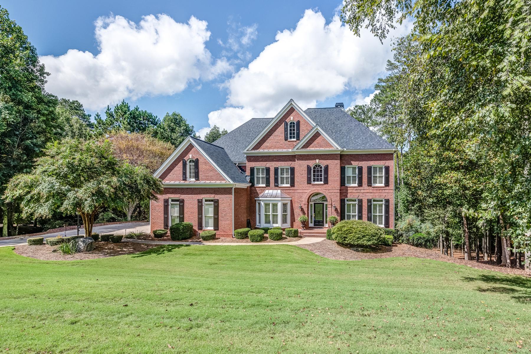 Eensgezinswoning voor Verkoop op Impeccable Home On 1.8+/- Acres In White Columns 15320 Treyburn Manor Vw Milton, Georgië 30004 Verenigde Staten
