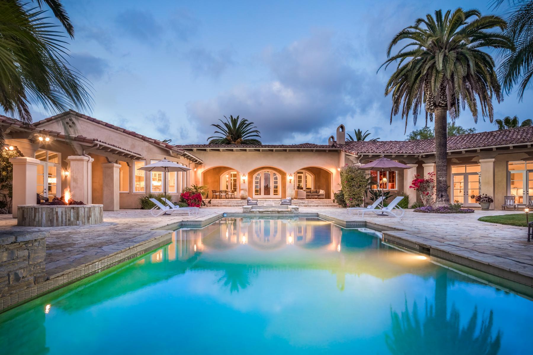Single Family Home for Sale at 17262 Via Recanto Rancho Santa Fe, California, 92067 United States