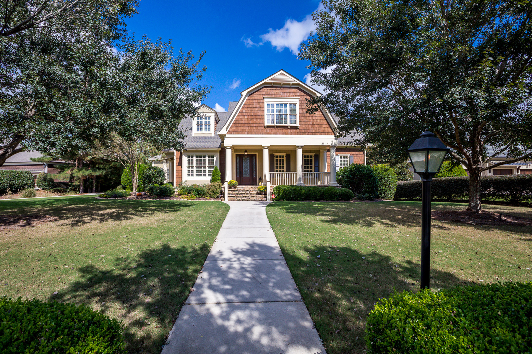 Single Family Home for Sale at Elegant and Relaxed Cedar Shake Style Home in Newhaven with Beautiful Pool/Spa 170 Newhaven Drive Fayetteville, Georgia 30215 United States