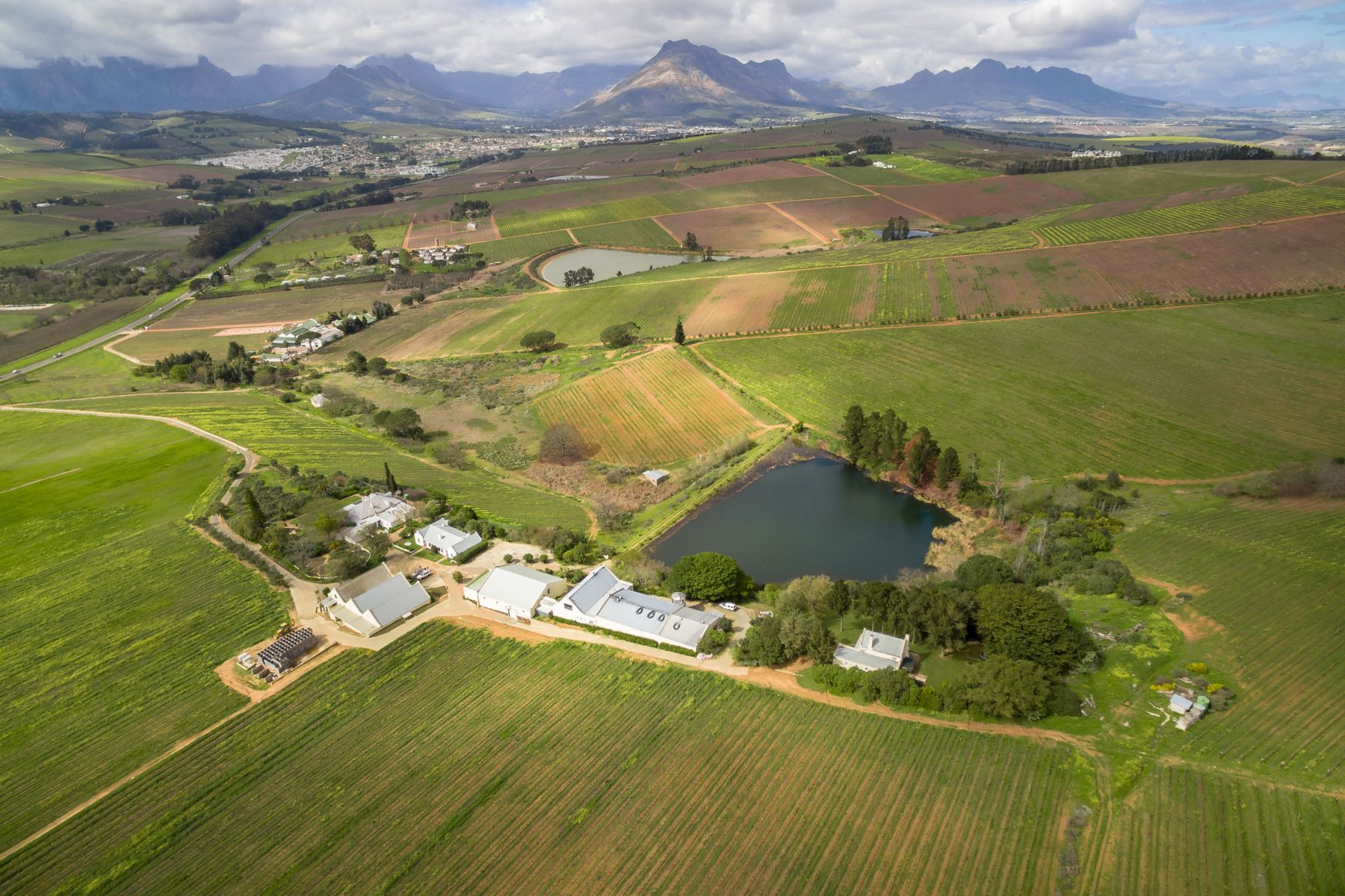 Farm / Ranch / Plantation for Sale at Award Winning Stellenbosch Wine Farm Stellenbosch, Western Cape 7600 South Africa