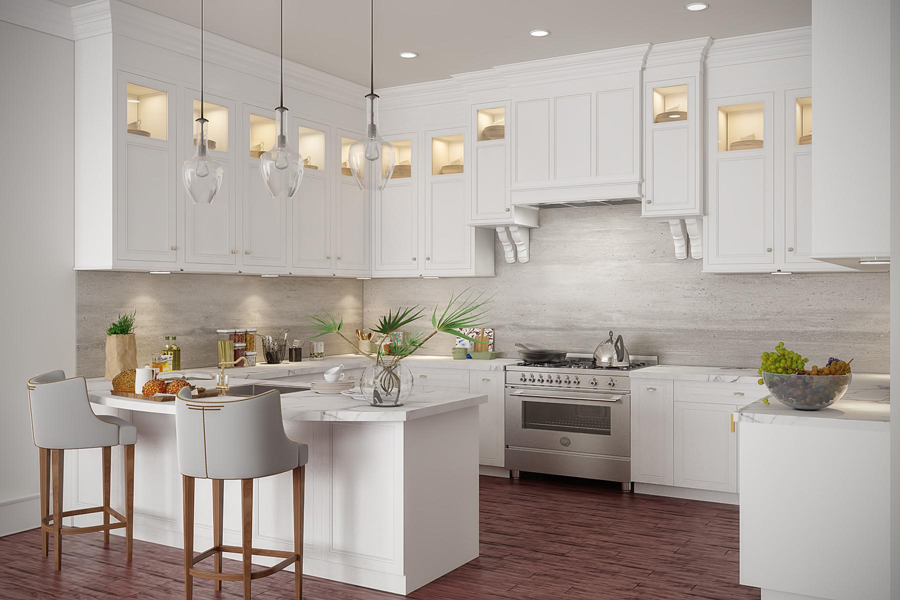 Condominiums للـ Sale في The Heritage at Claremont 80 Claremont Road, Residence 107, Bernardsville, New Jersey 07924 United States