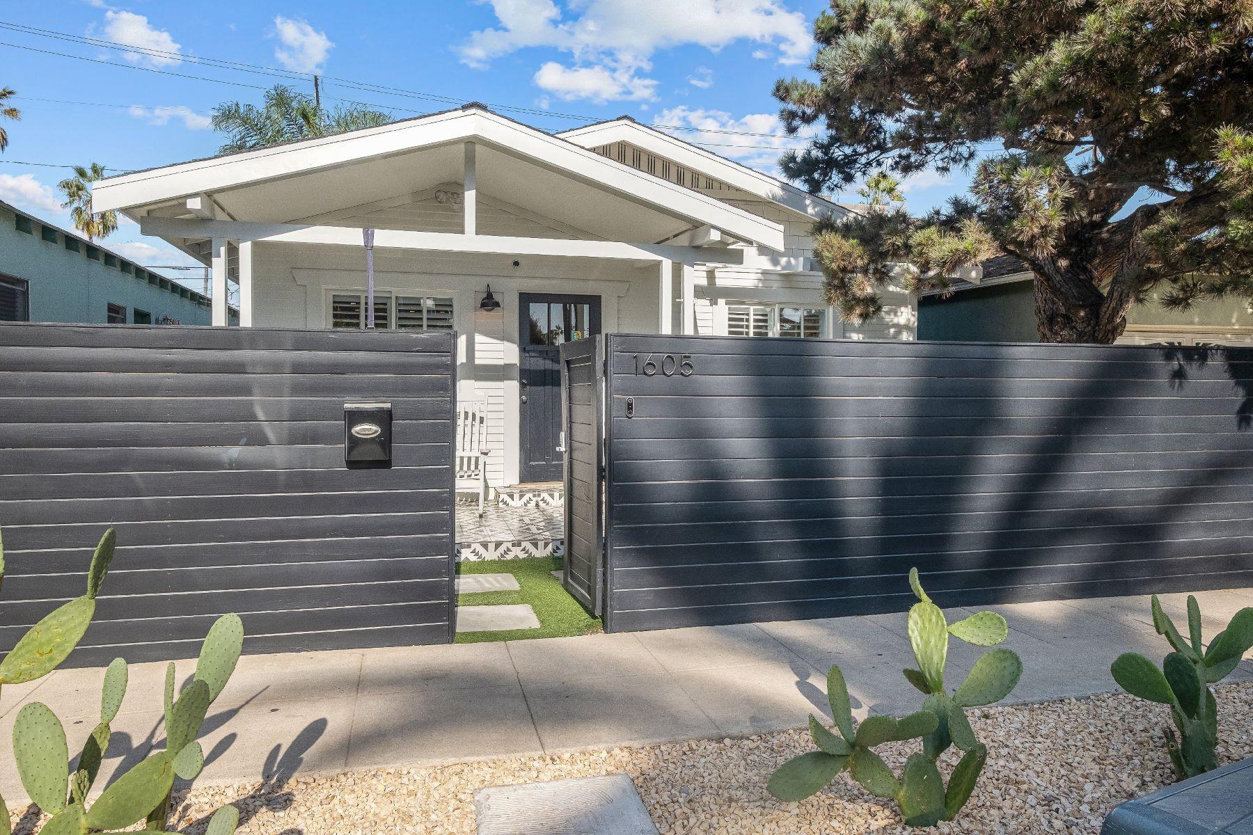 Single Family Homes for Sale at 1605 Cabrillo Avenue Venice, California 90291 United States
