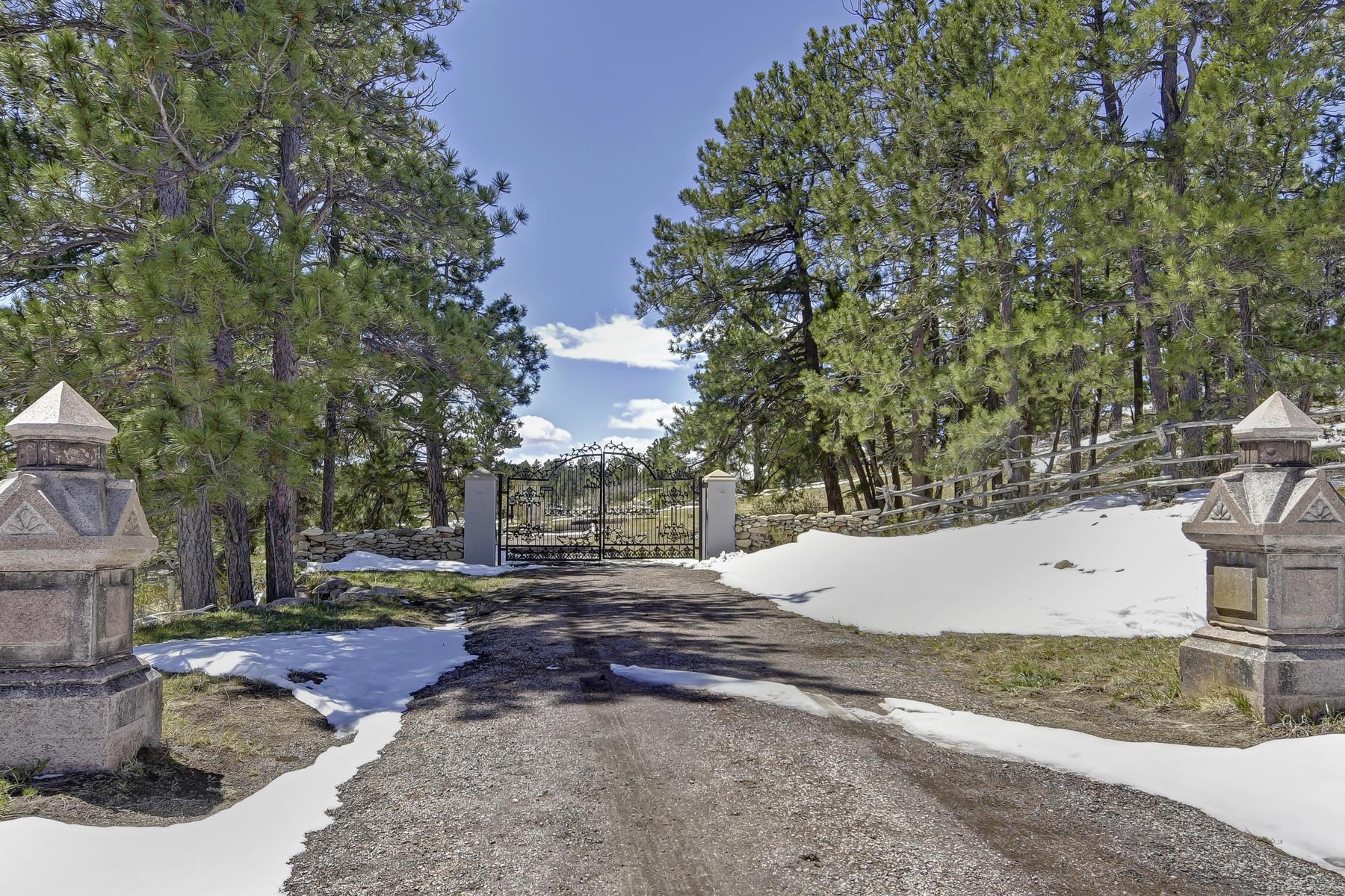 Maison unifamiliale pour l Vente à 11490 Pony Express Rd Elbert, Colorado, 80106 États-Unis