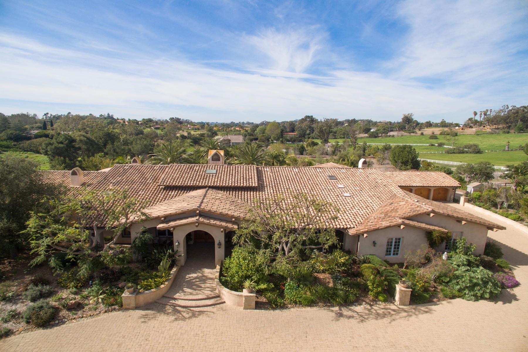Single Family Home for Sale at 7099 El Camino del Norte Rancho Santa Fe, California, 92067 United States