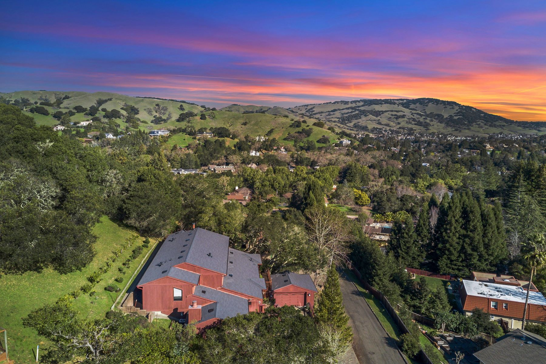 Single Family Homes for Sale at Large, Fully Remodeled Wild Horse Valley Property 60 Pinto Lane Novato, California 94947 United States