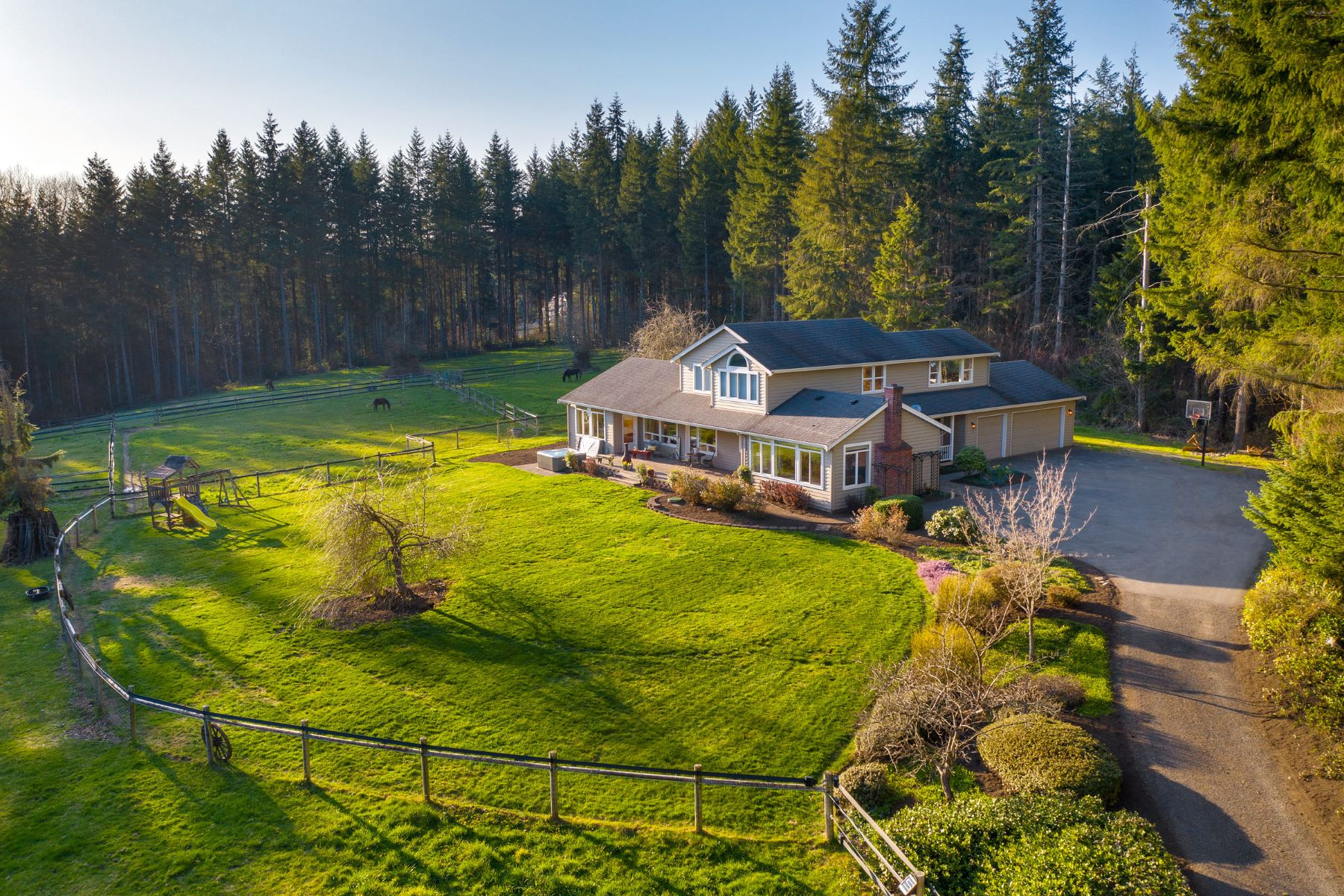 Single Family Homes for Sale at 5 Star Farm 35015 NE Moss Creek Way, Carnation, Washington 98014 United States