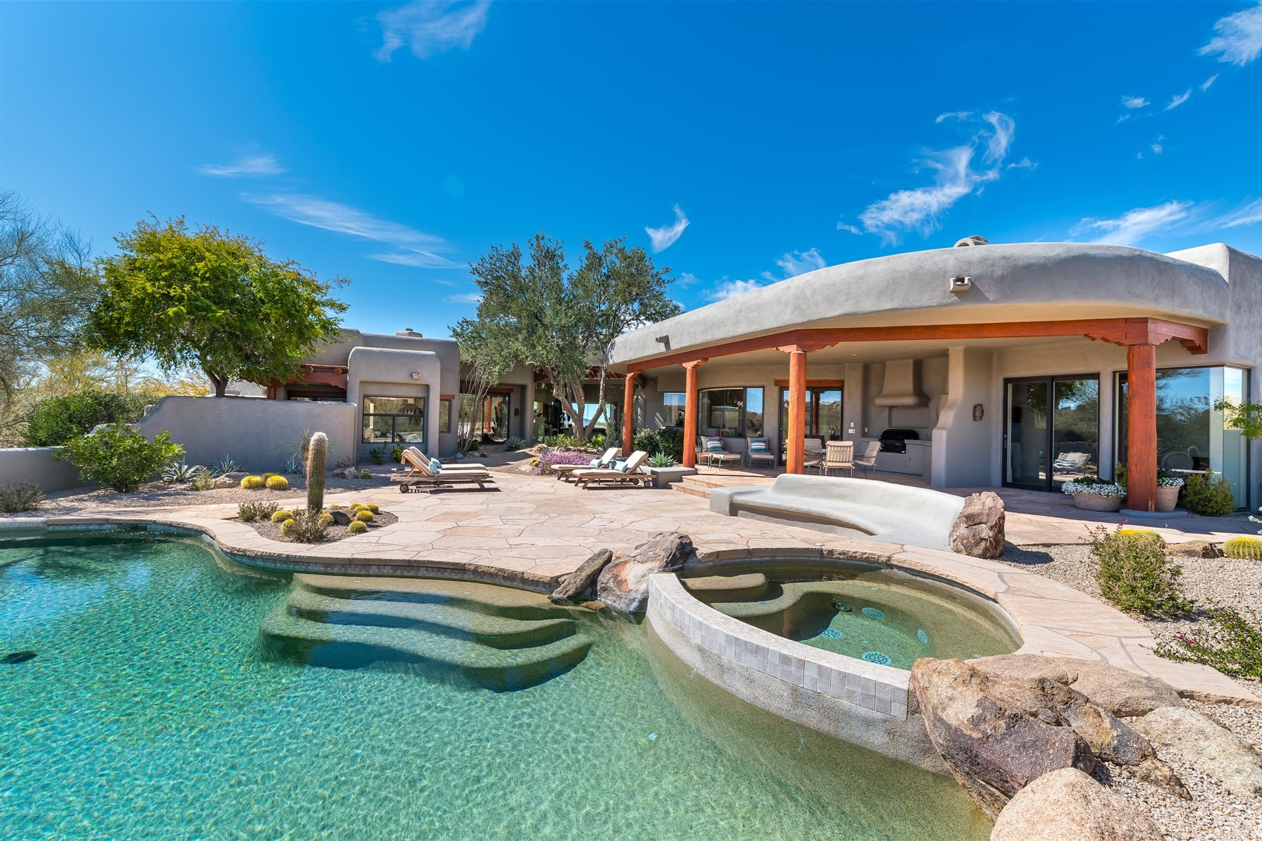 Maison unifamiliale pour l Vente à Southwest Architectural Home in Desert Mountain 10418 E Groundcherry Ln, Scottsdale, Arizona, 85262 États-Unis