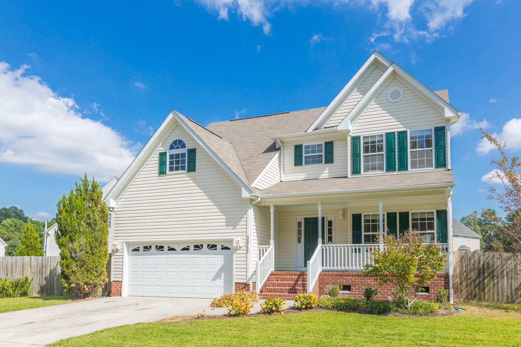 Single Family Homes por un Venta en MILL CREEK HARBOR 2017 Millville Road Chesapeake, Virginia 23323 Estados Unidos