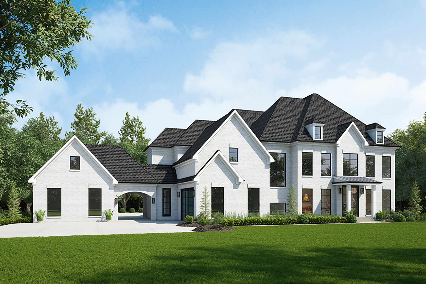Single Family Homes for Active at Modern Estate To Be Built In Alpharetta's Downtown Garden District 12480 Hopewell Road Alpharetta, Georgia 30009 United States