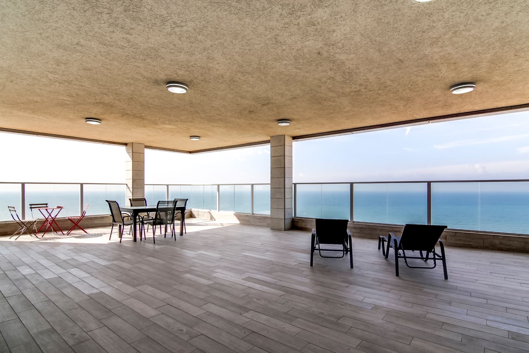 Apartment for Sale at Serene Sea View Penthouse Netanya, Israel Israel