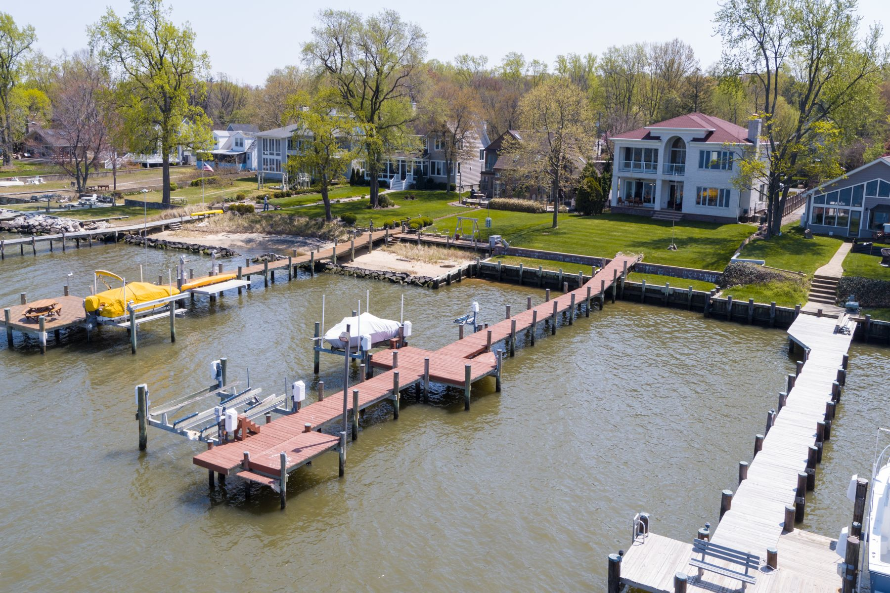 Single Family Home for Sale at 1118 River Bay Road, Annapolis 1118 River Bay Rd Annapolis, Maryland 21409 United States