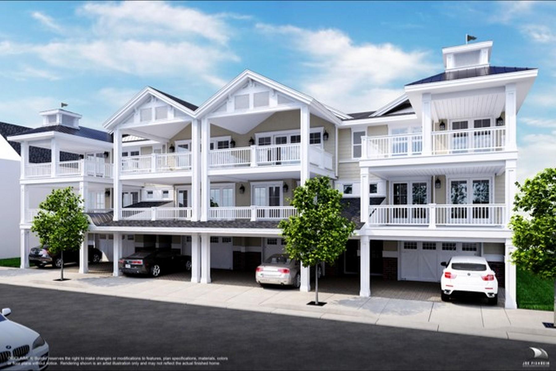 Casa unifamiliar adosada (Townhouse) por un Venta en 20 S Douglas Ave UNIT D Margate, Nueva Jersey 08402 Estados Unidos