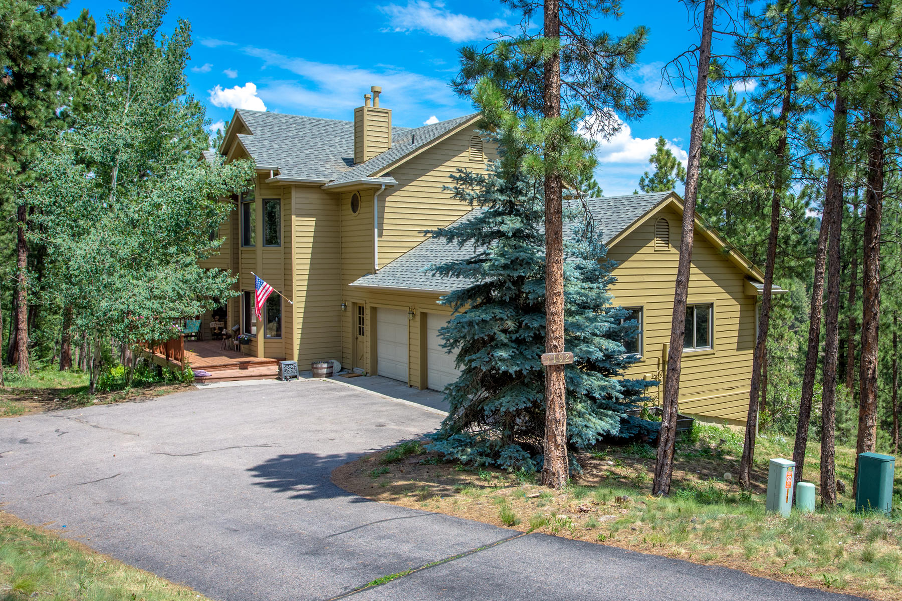 Single Family Home for Active at 7192 Pinewood Drive 7192 Pinewood Drive, Evergreen, Colorado 80439 United States
