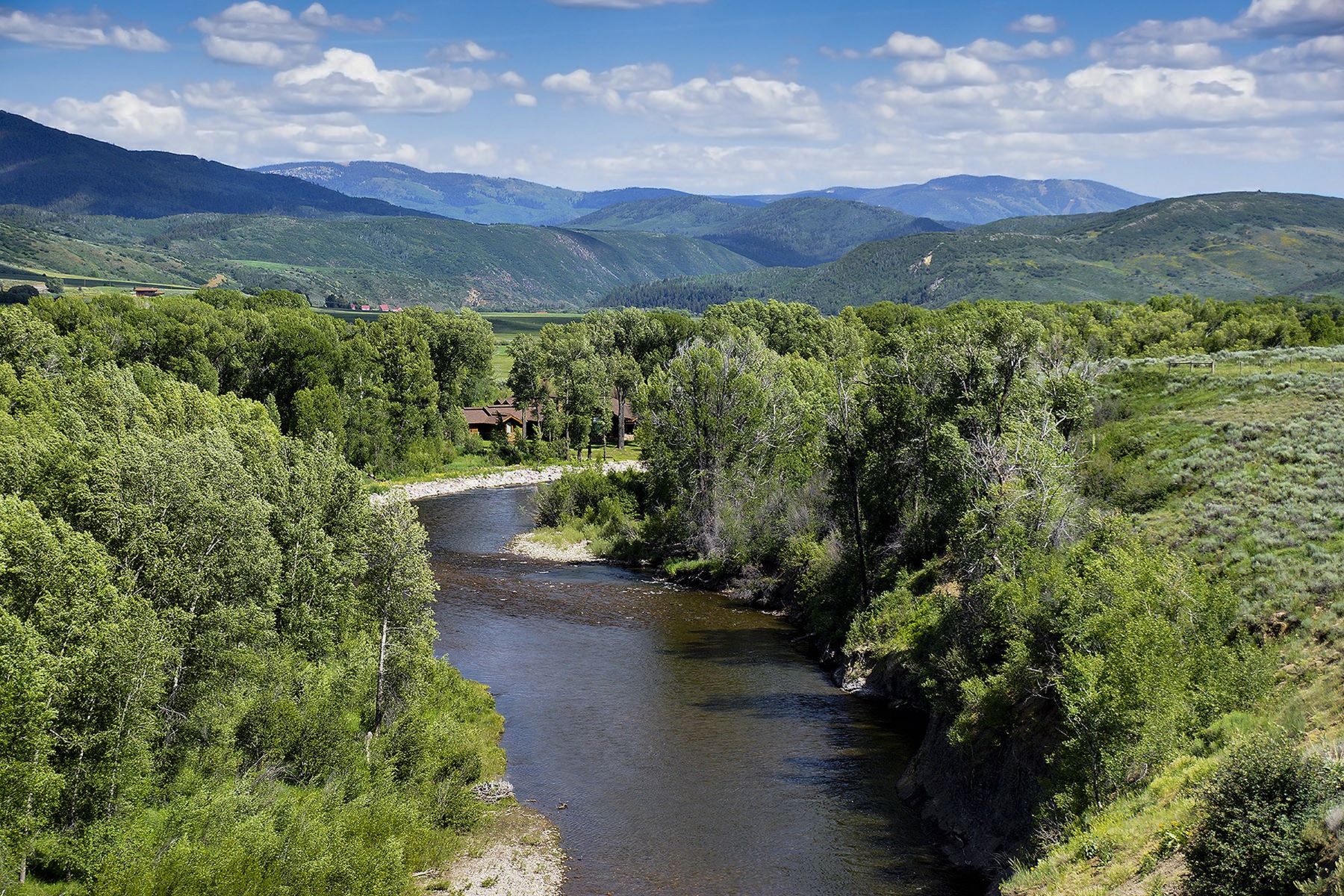 Granjas / Hacienda / Platanción por un Venta en Elk River Ranch 25563 RCR 54 Steamboat Springs, Colorado 80487 Estados Unidos