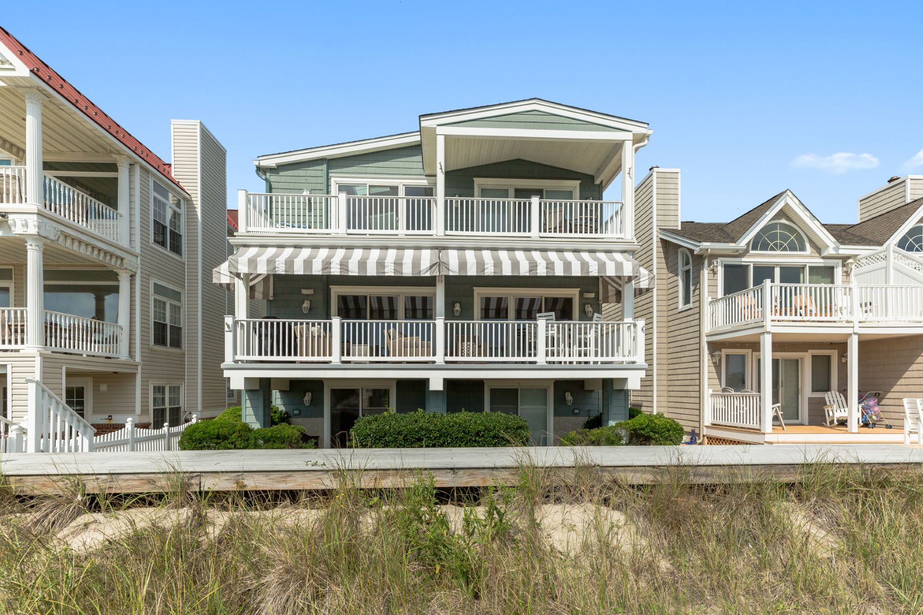 Condominium for Sale at Gorgeous Beach Front 3921 Central Avenue 1st Floor, Ocean City, New Jersey 08226 United States