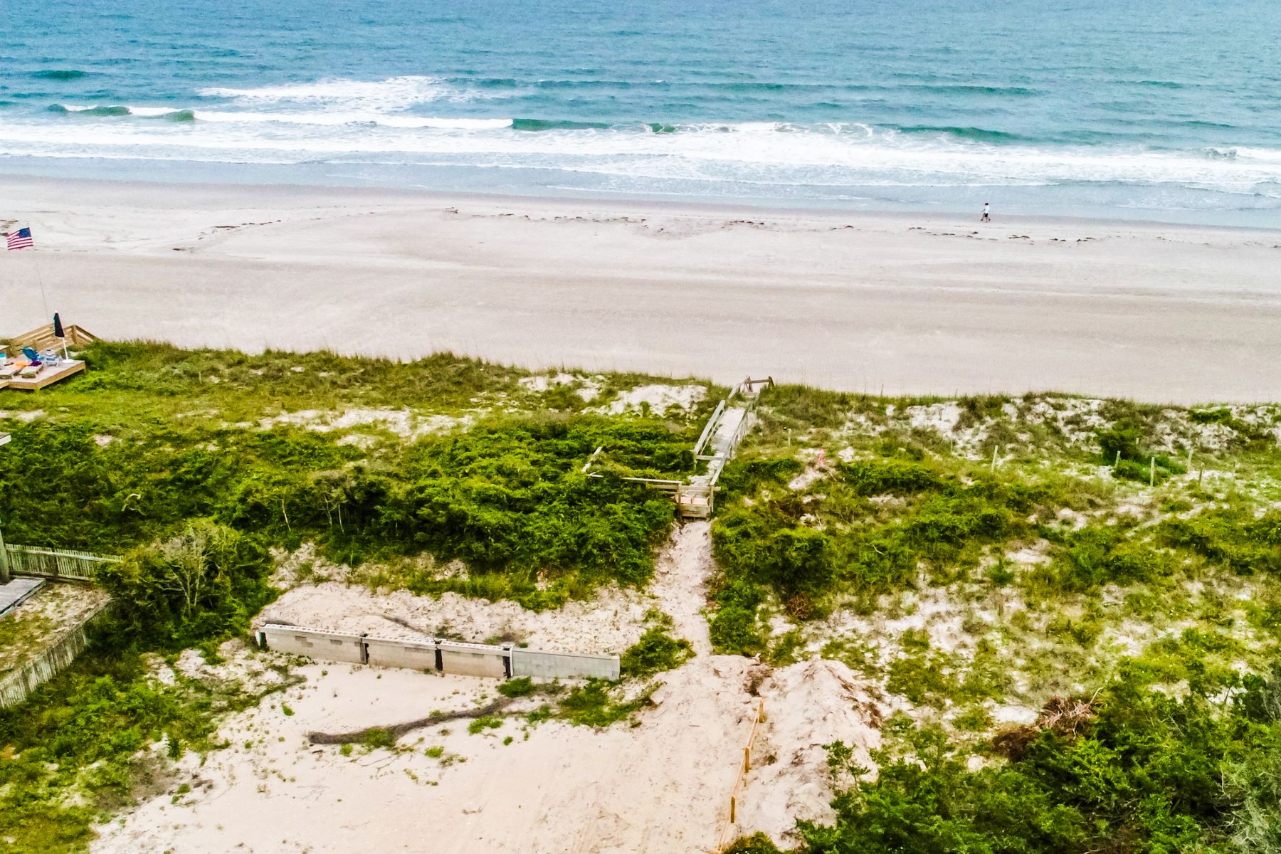 Land for Active at Signature Oceanfront Lot 413 S Anderson Blvd Topsail Beach, North Carolina 28445 United States