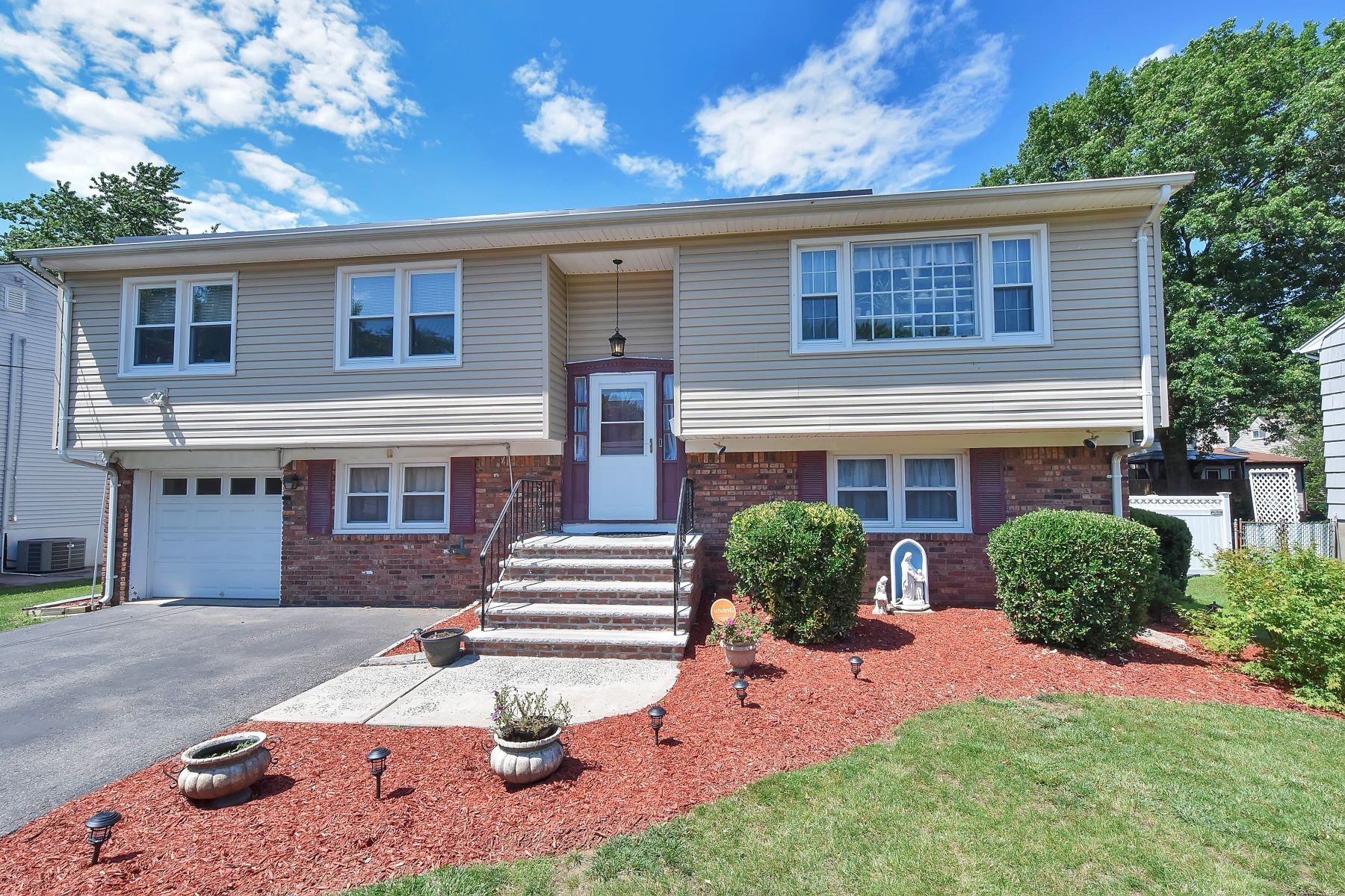 Single Family Home for Sale at Lovely Little Ferry Split! 10 Birch Street Little Ferry, New Jersey 07643 United States