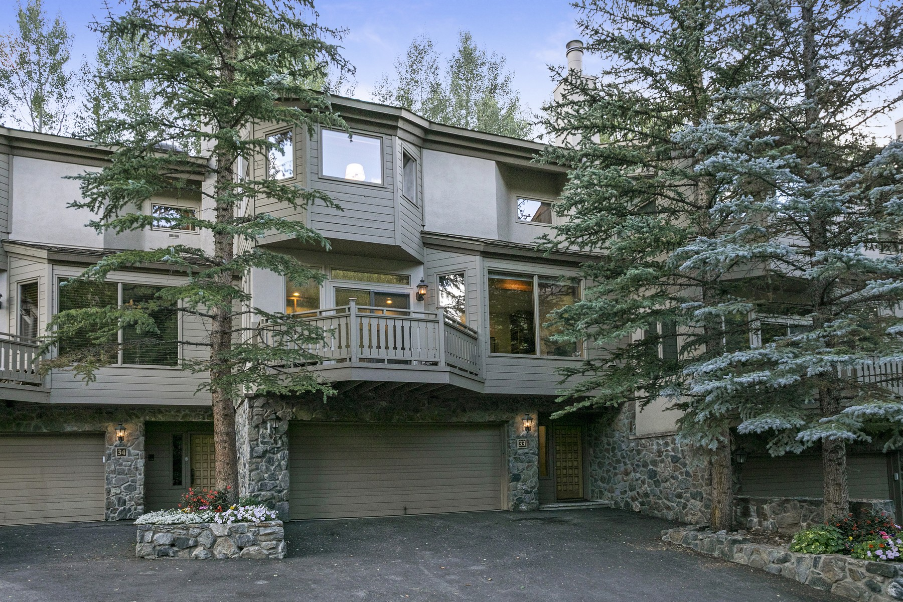 Townhouse for Active at Vail Golfcourse Townhomes # J33 1645 Golf Terrace #J33 Vail, Colorado 81657 United States
