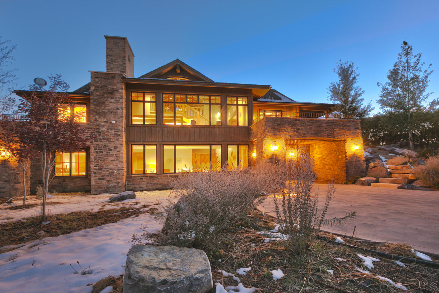 Single Family Home for Sale at Fabulous Golf Club Cabin in Promontory 8584 Ranch Club Ct Park City, Utah 84098 United States