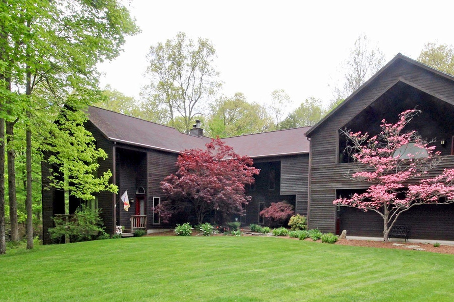 Single Family Home for Sale at Serene Privacy 16 Winston Drive Rhinebeck, New York 12572 United States