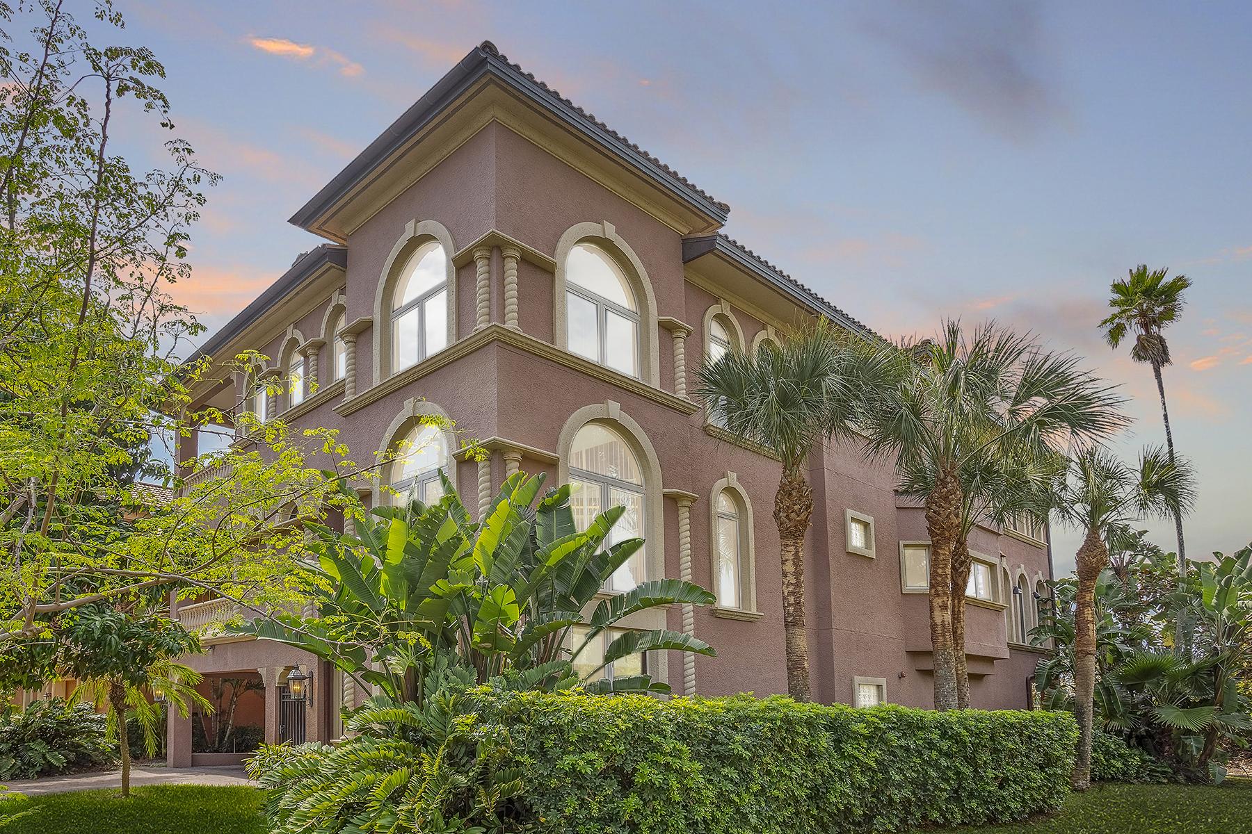 Single Family Homes por un Venta en 2220 Sunset Way St. Pete Beach, Florida 33706 Estados Unidos