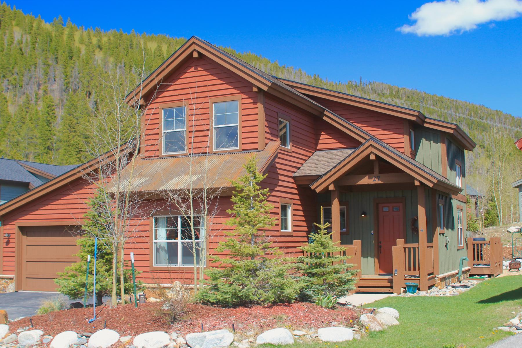 Single Family Home for Active at Vista Piont 27 Sheppard Circle Breckenridge, Colorado 80424 United States