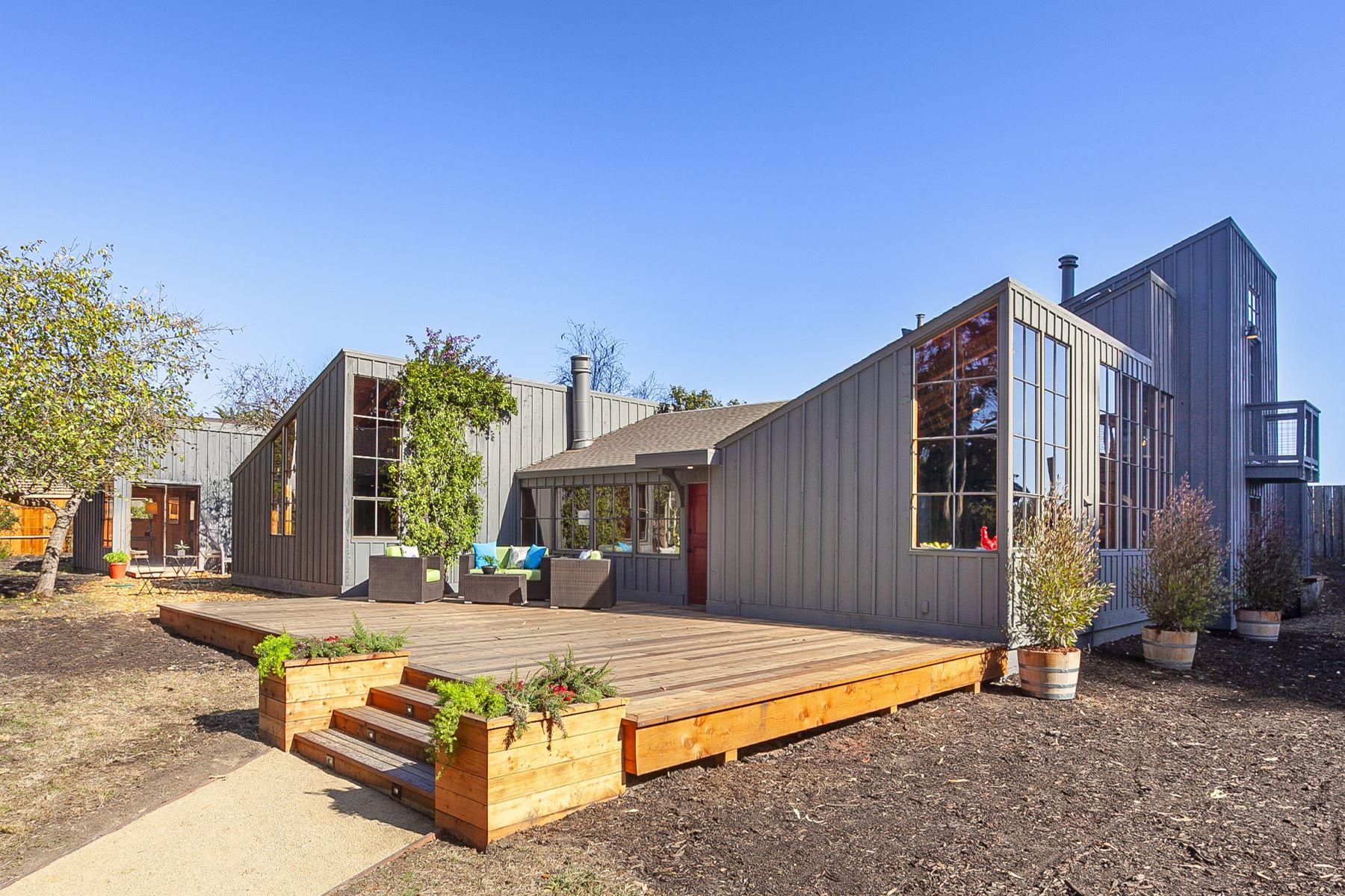 Single Family Homes para Venda às Hidden Bolinas Haven 10 Purple Gate Rd, Bolinas, Califórnia 94924 Estados Unidos