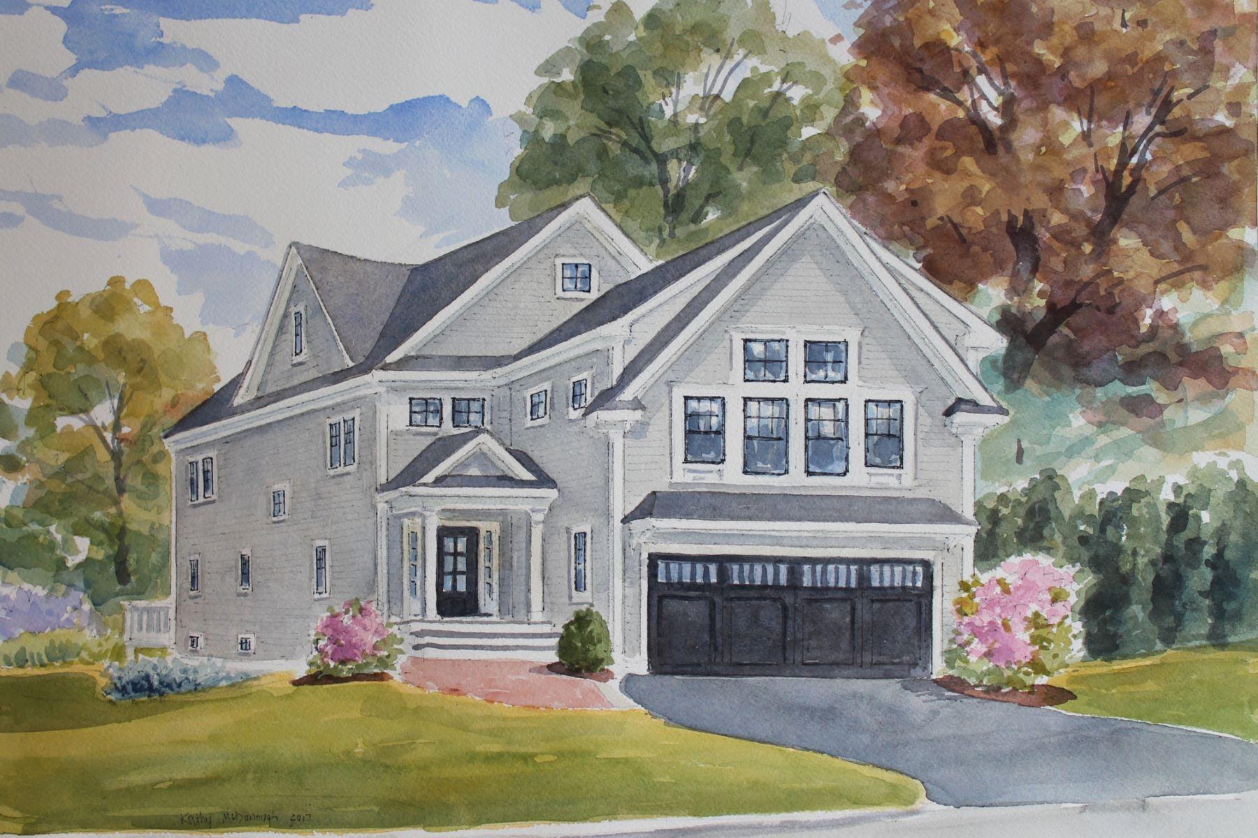 Casa para uma família para Venda às New Construction 350 Waltham Street Lexington, Massachusetts, 02420 Estados Unidos