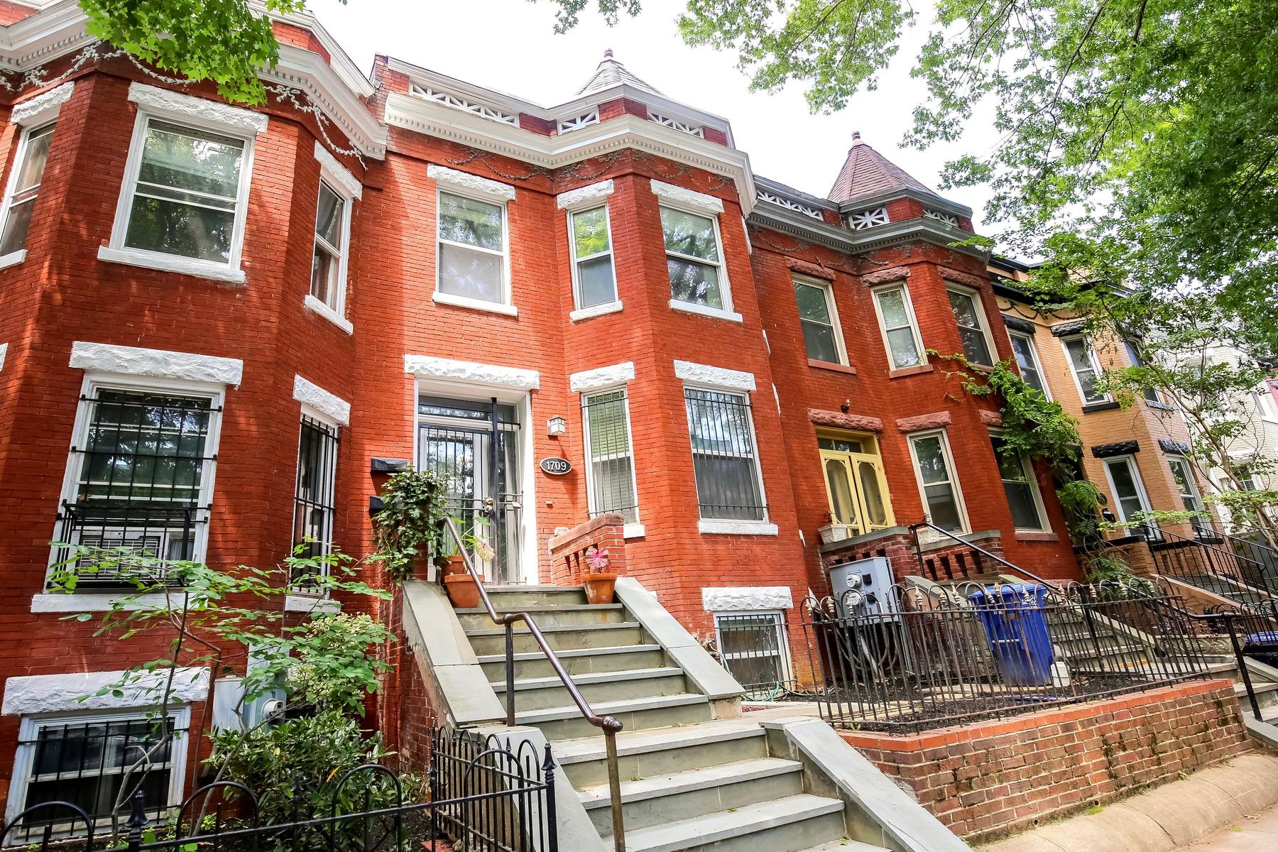 Residência urbana para Venda às 1709 Euclid Street Nw 1, Washington Washington, Distrito De Columbia, 20009 Estados Unidos