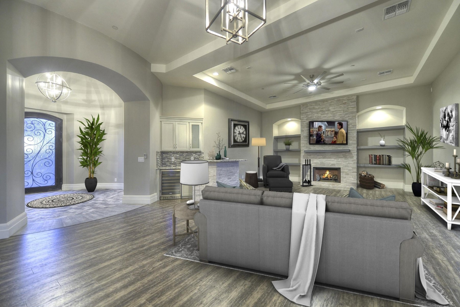 独户住宅 为 销售 在 One of a kind 2017 custom private one story home 8709 E Villa Cassandra Dr, 斯科茨代尔, 亚利桑那州, 85266 美国