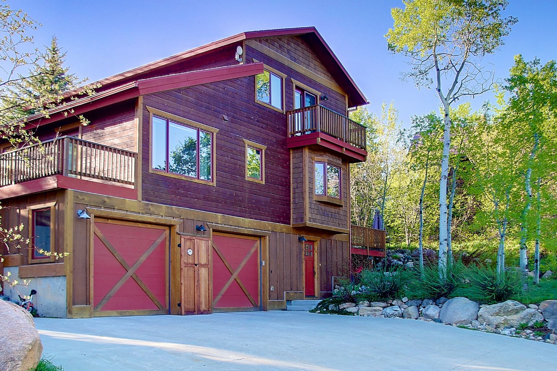 Single Family Home for Sale at Country Living in Town 1798 Harmony Lane Steamboat Springs, Colorado, 80487 United States