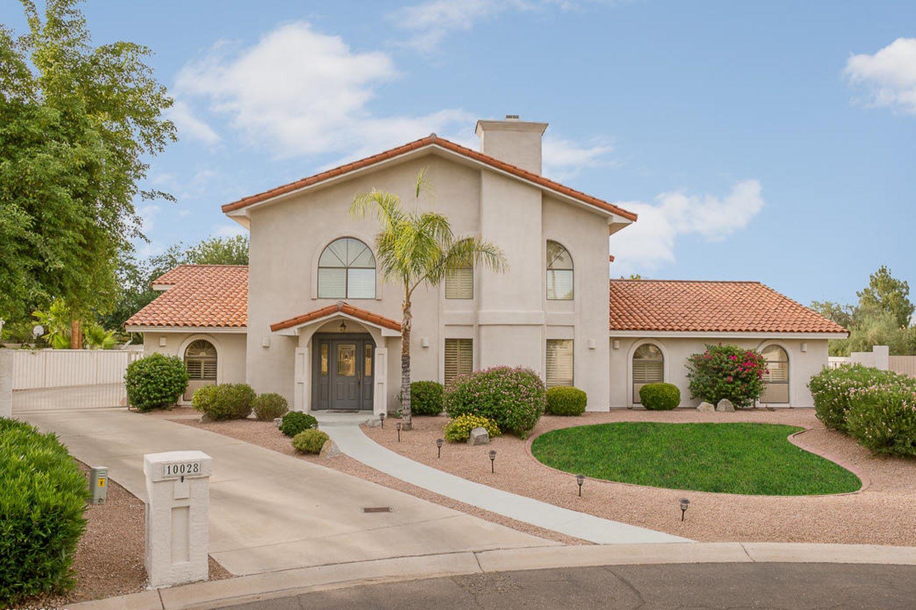 Maison unifamiliale pour l Vente à Santa Barbara home in Singletree Ranch 10028 N 55th Place Paradise Valley, Arizona, 85253 États-Unis