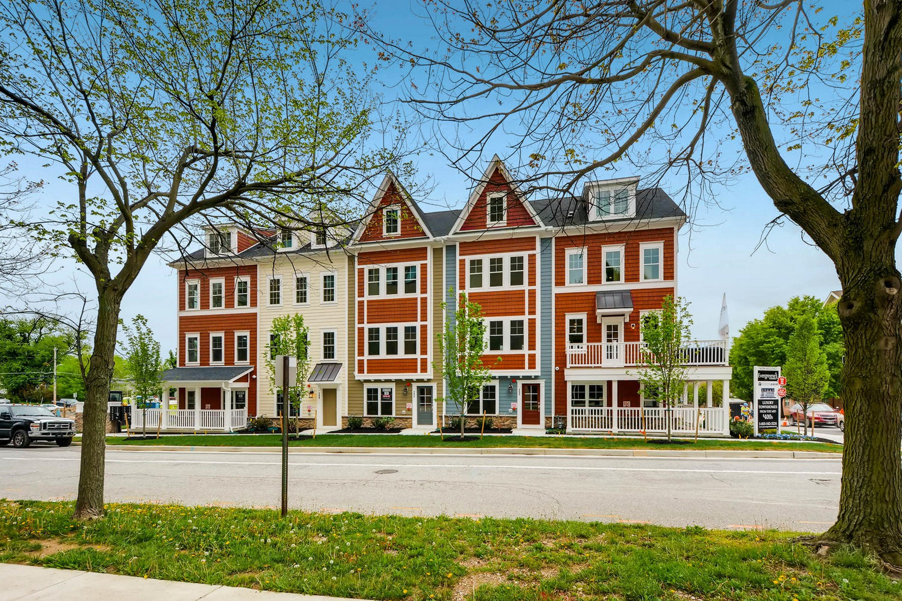 Casa unifamiliar adosada (Townhouse) por un Venta en Towson Mews 311 Davage Lane E #Model Towson, Maryland 21286 Estados Unidos