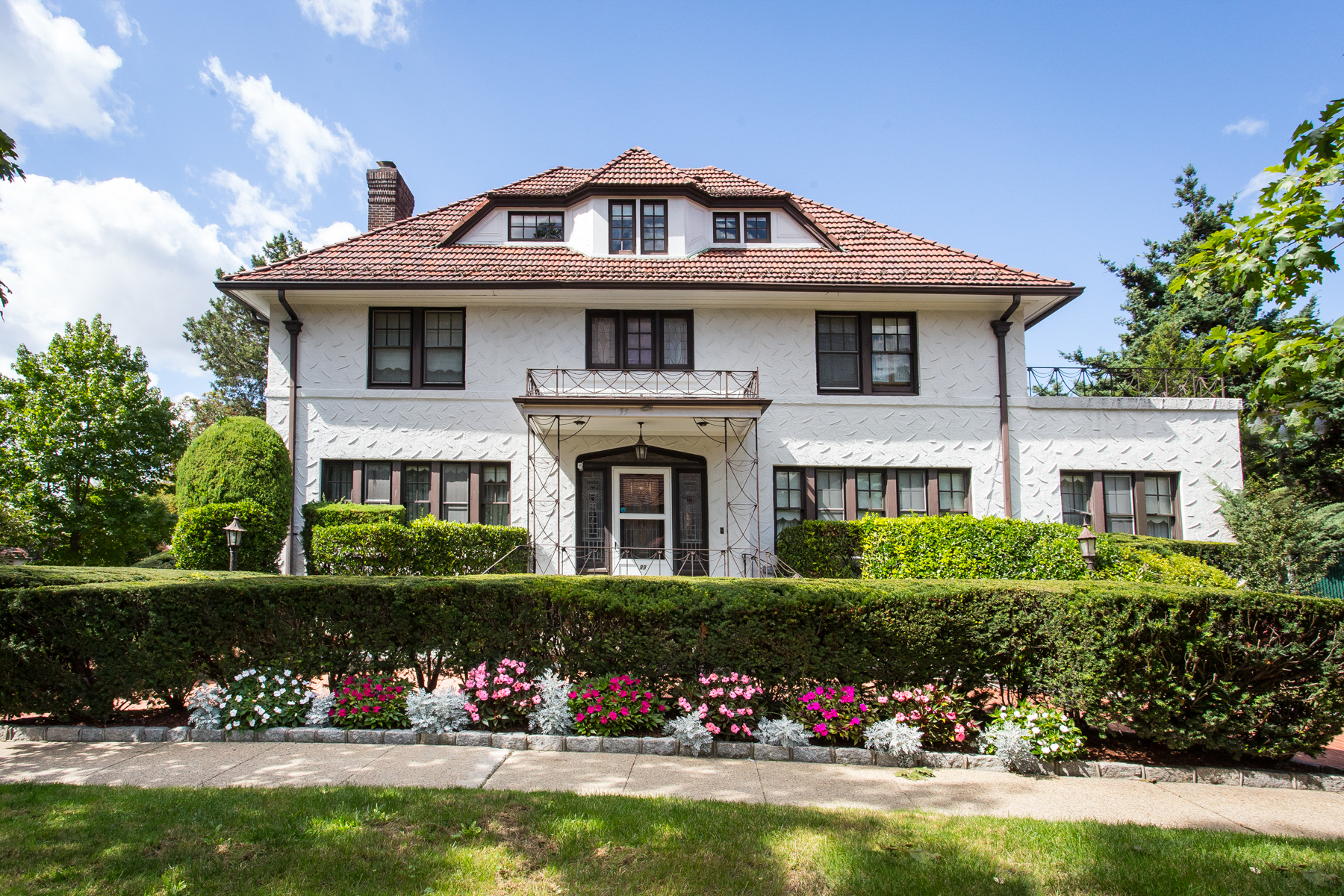 """Single Family Homes for Sale at """"MAGNIFICENT MANOR HOME"""" 99 Tennis Place, Forest Hills Gardens, Queens, New York 11375 United States"""
