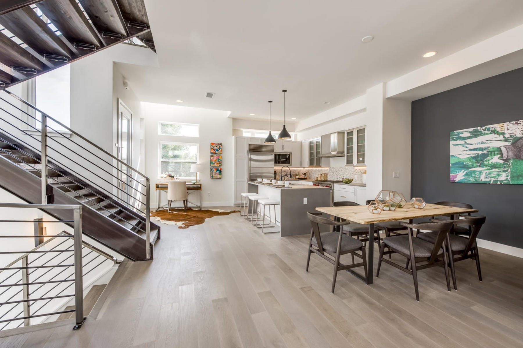 Townhouse for Active at SPROCKET DESIGNED TOWNHOMES FEATURING EXPANSIVE ROOFTOP DECK 4064 West 16th Avenue Denver, Colorado 80204 United States