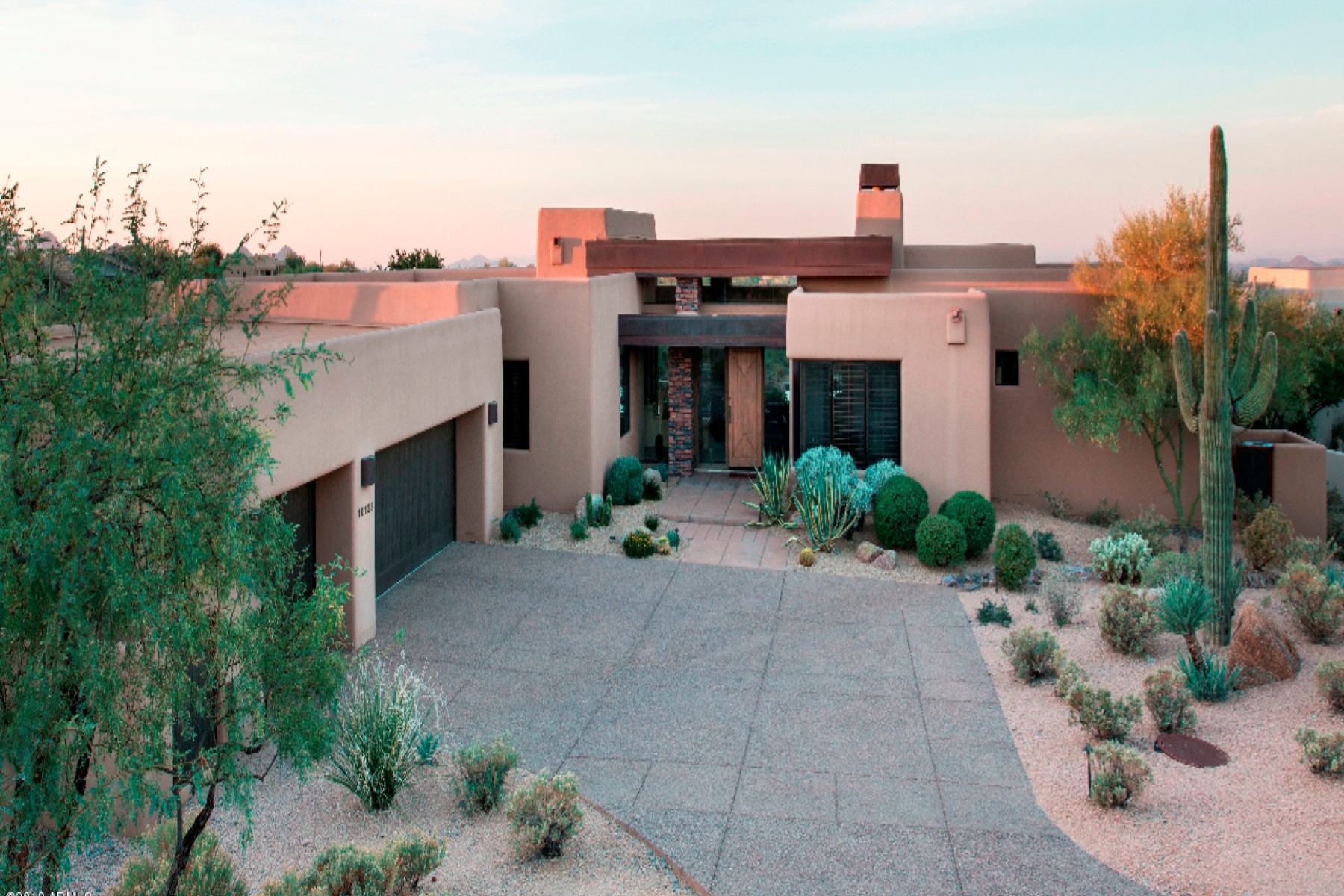 sales property at Fabulous Southwest contemporary in Desert Hills