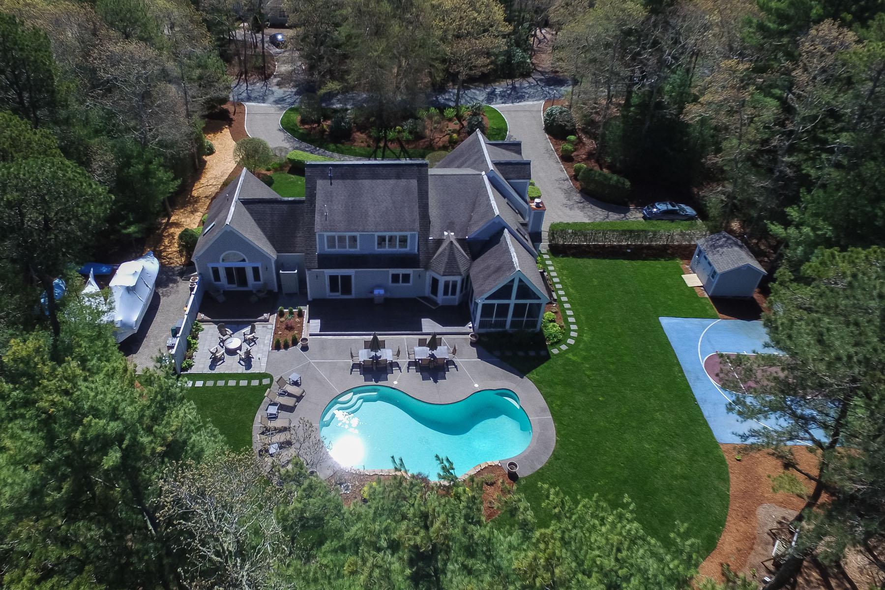 一戸建て のために 売買 アット EXQUISITE CONTEMPORARY HOME 17 Highwood Way New Seabury, マサチューセッツ, 02649 アメリカ合衆国