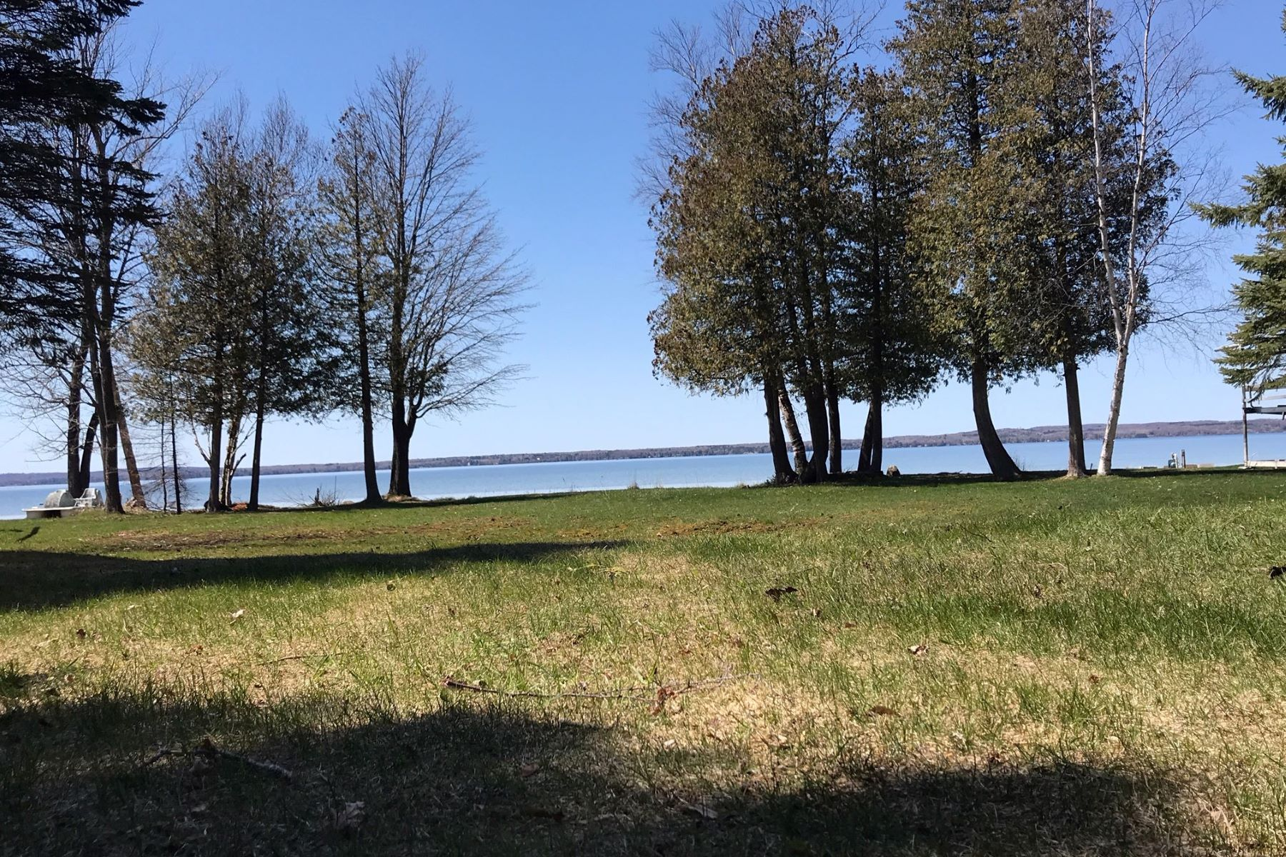 Land for Sale at More than 70 feet of Mullet Lake frontage 5185 Tromble Drive, Cheboygan, Michigan 49721 United States