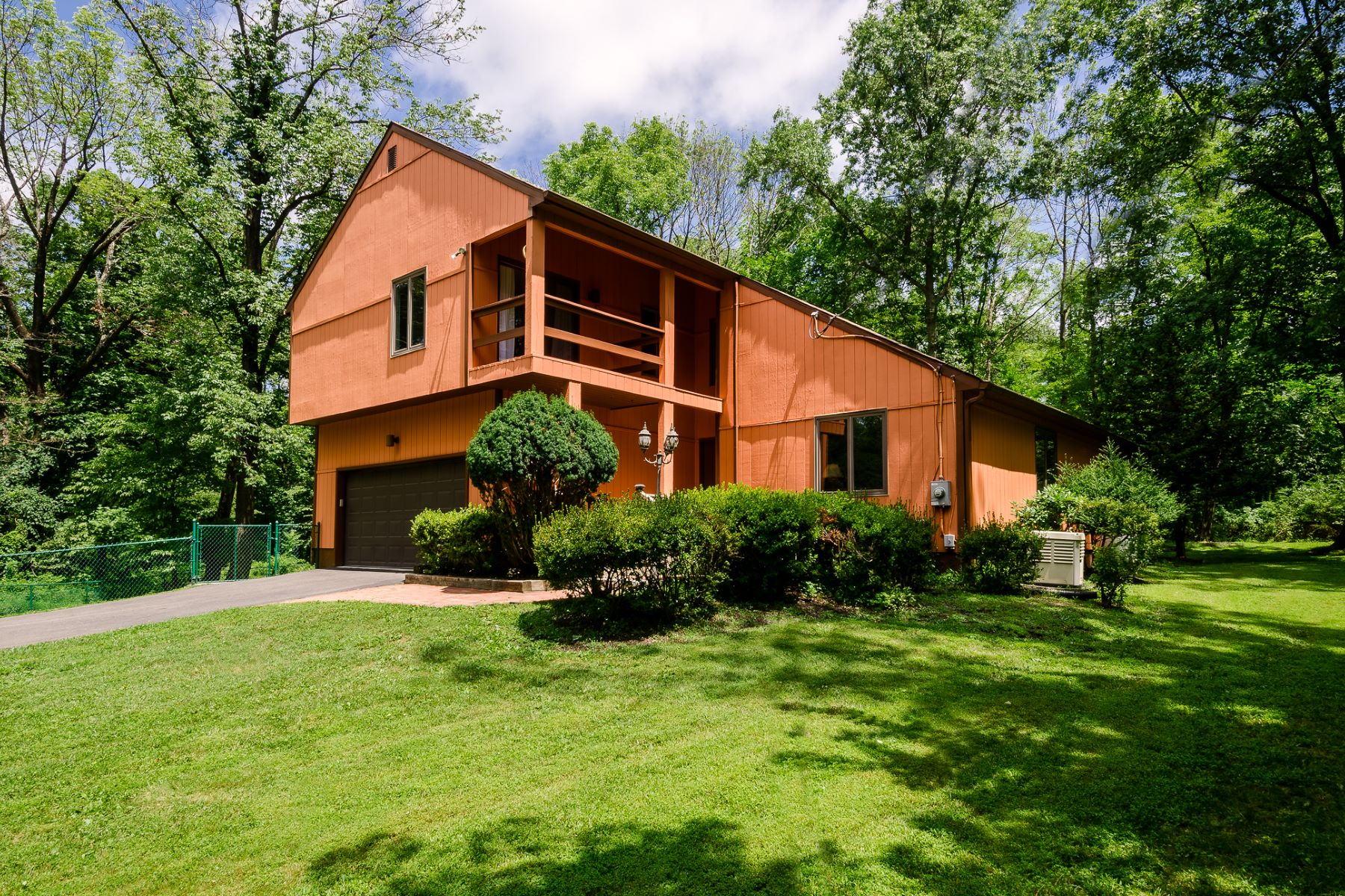 Single Family Home for Sale at A Contemporary Getaway Mere Miles From Princeton 150 Old Georgetown Road, Princeton, New Jersey 08540 United States