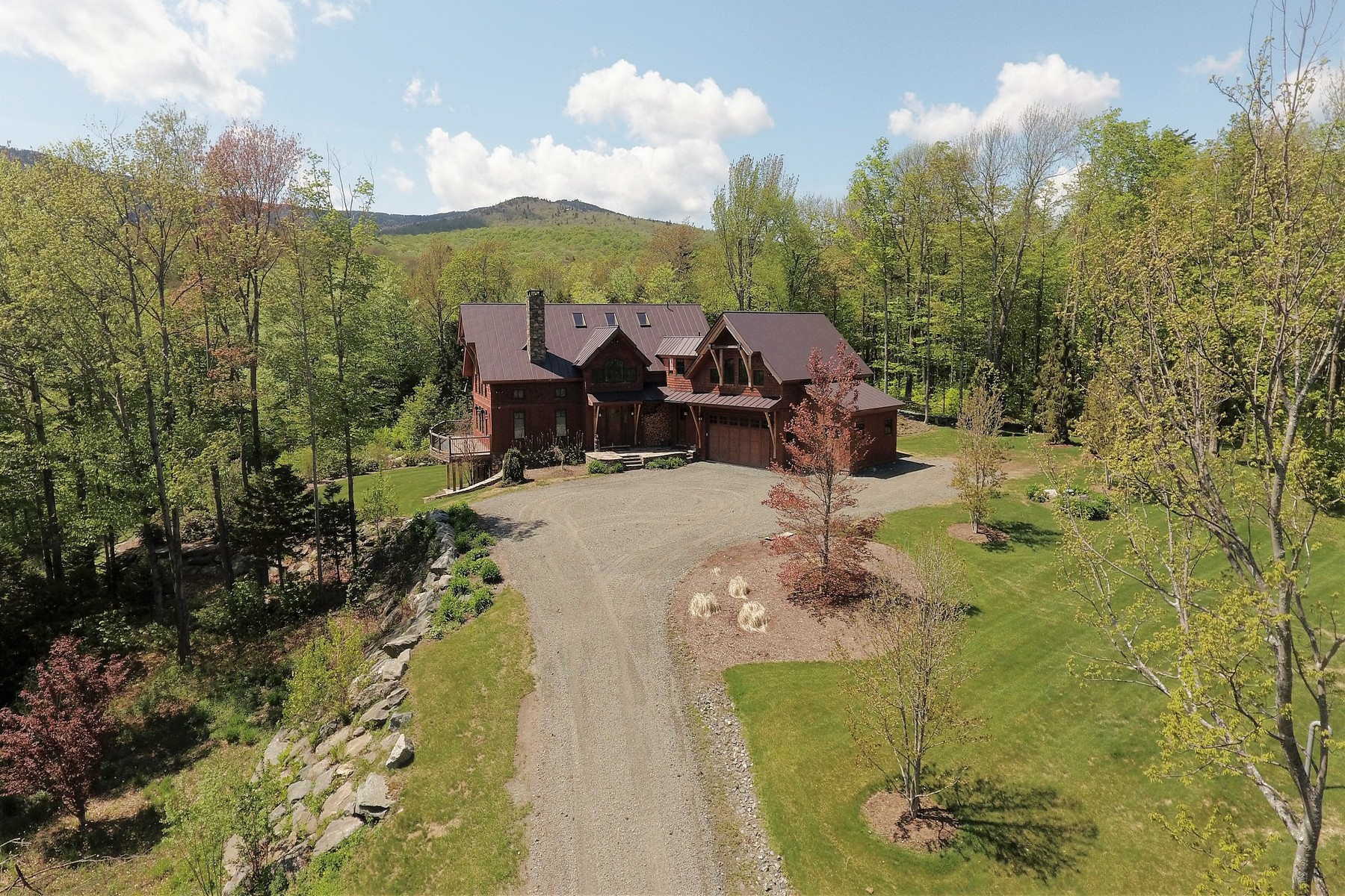 Single Family Homes for Sale at Spectactular Location, Views and Home 133 Handle Rd Dover, Vermont 05356 United States